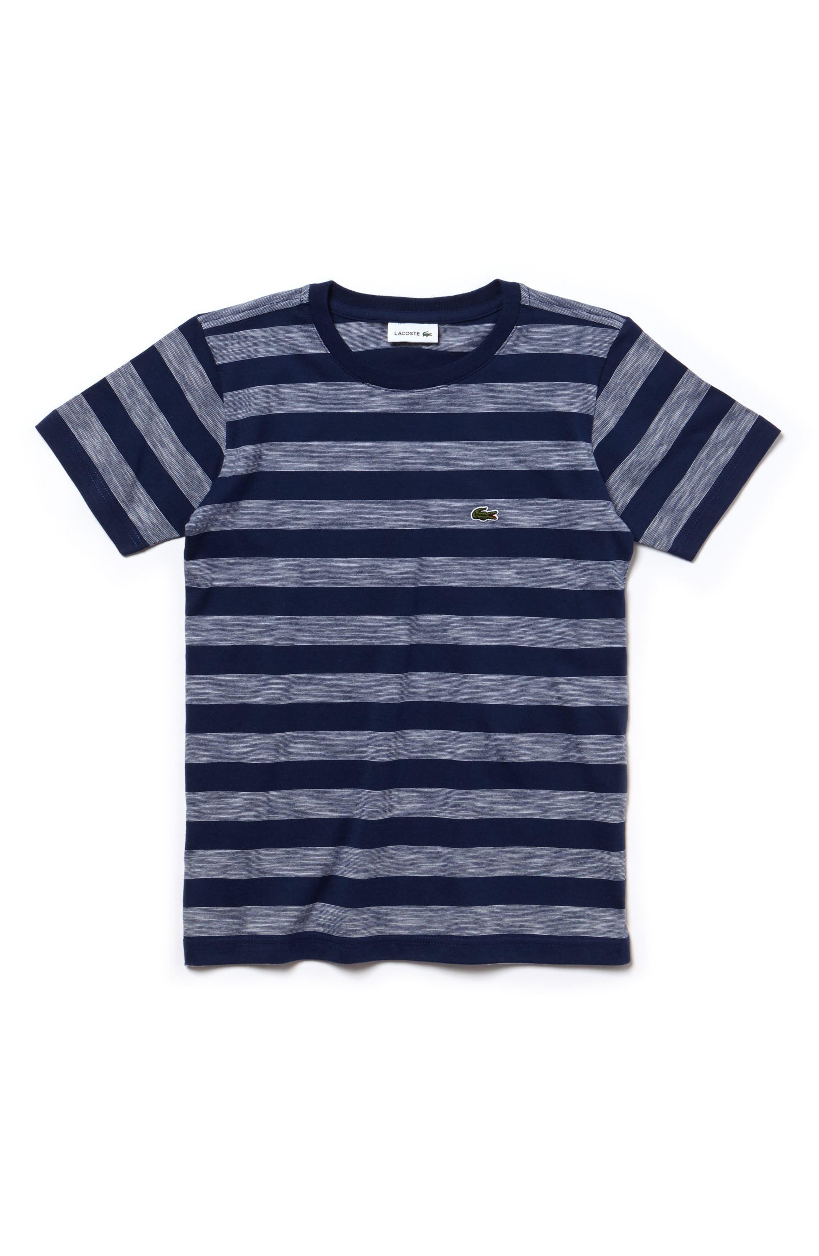 Stripe Jersey T-Shirt,                             Main thumbnail 1, color,                             406