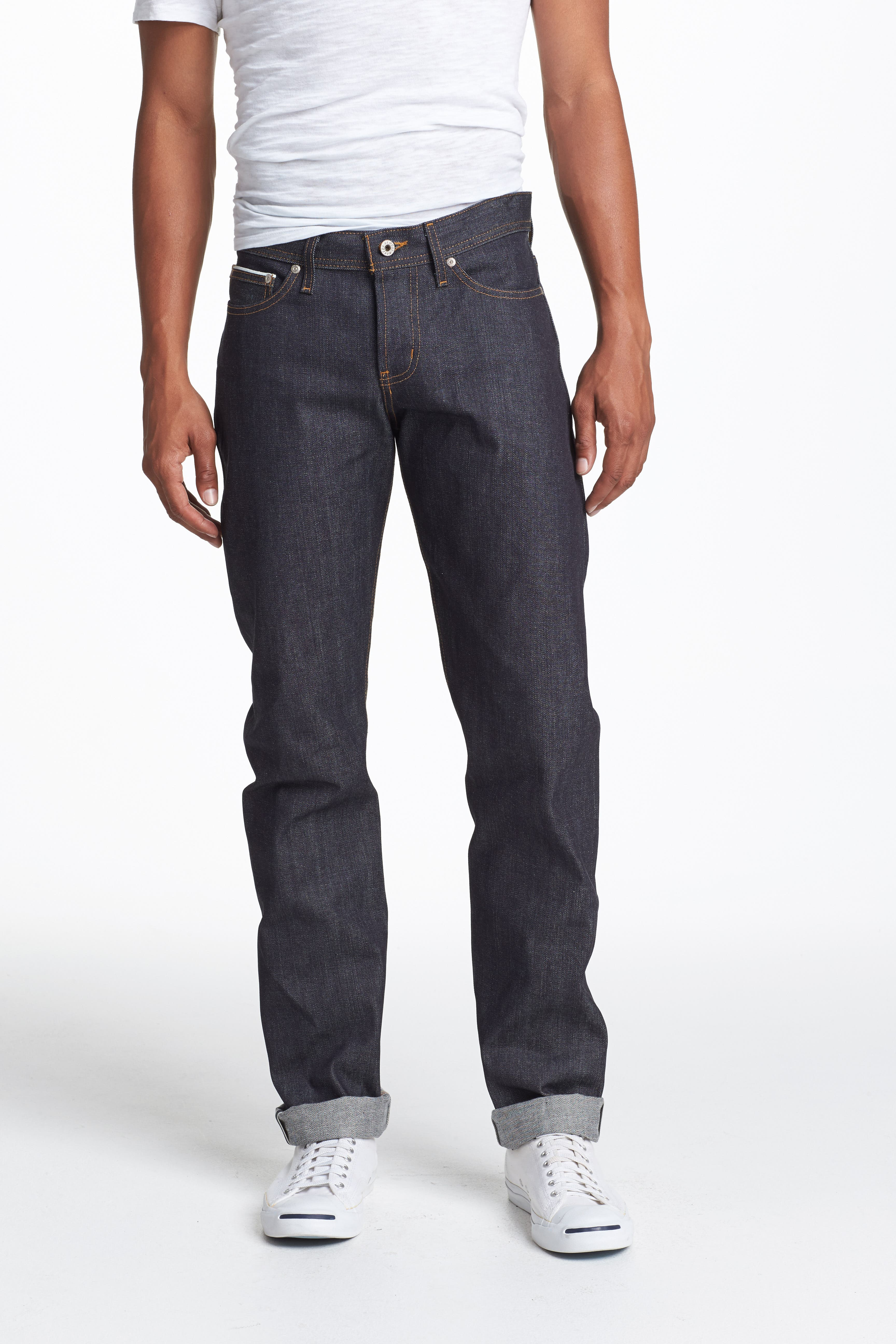 Weird Guy Slim Fit Jeans,                             Alternate thumbnail 2, color,                             LEFT HAND TWILL SELVEDGE