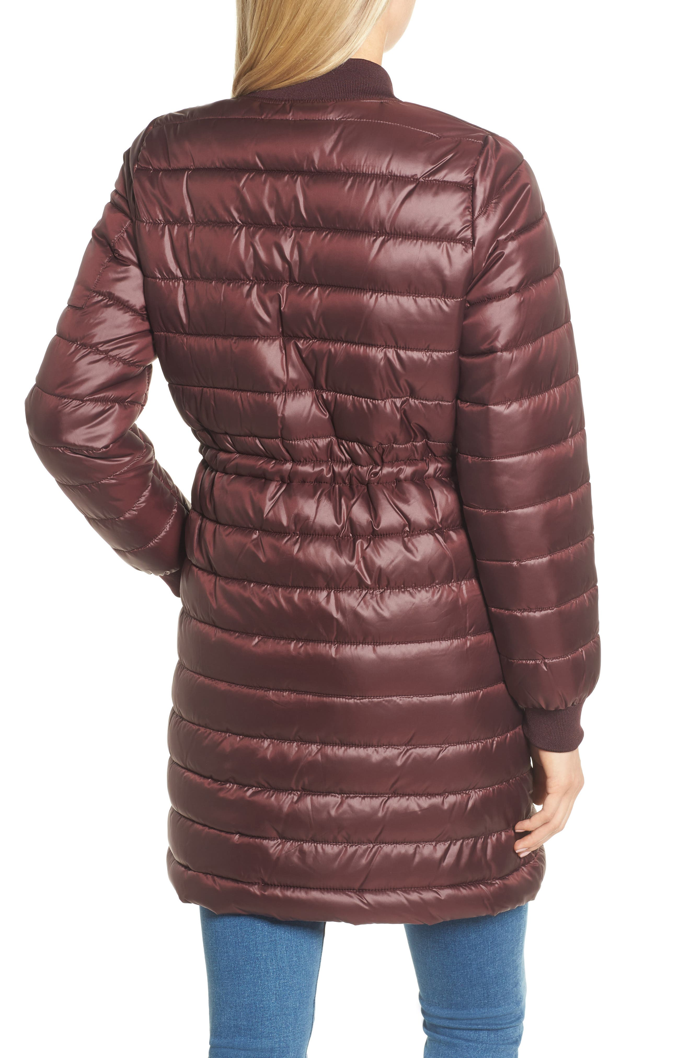 Lightweight Quilted Puffer Coat,                             Alternate thumbnail 8, color,