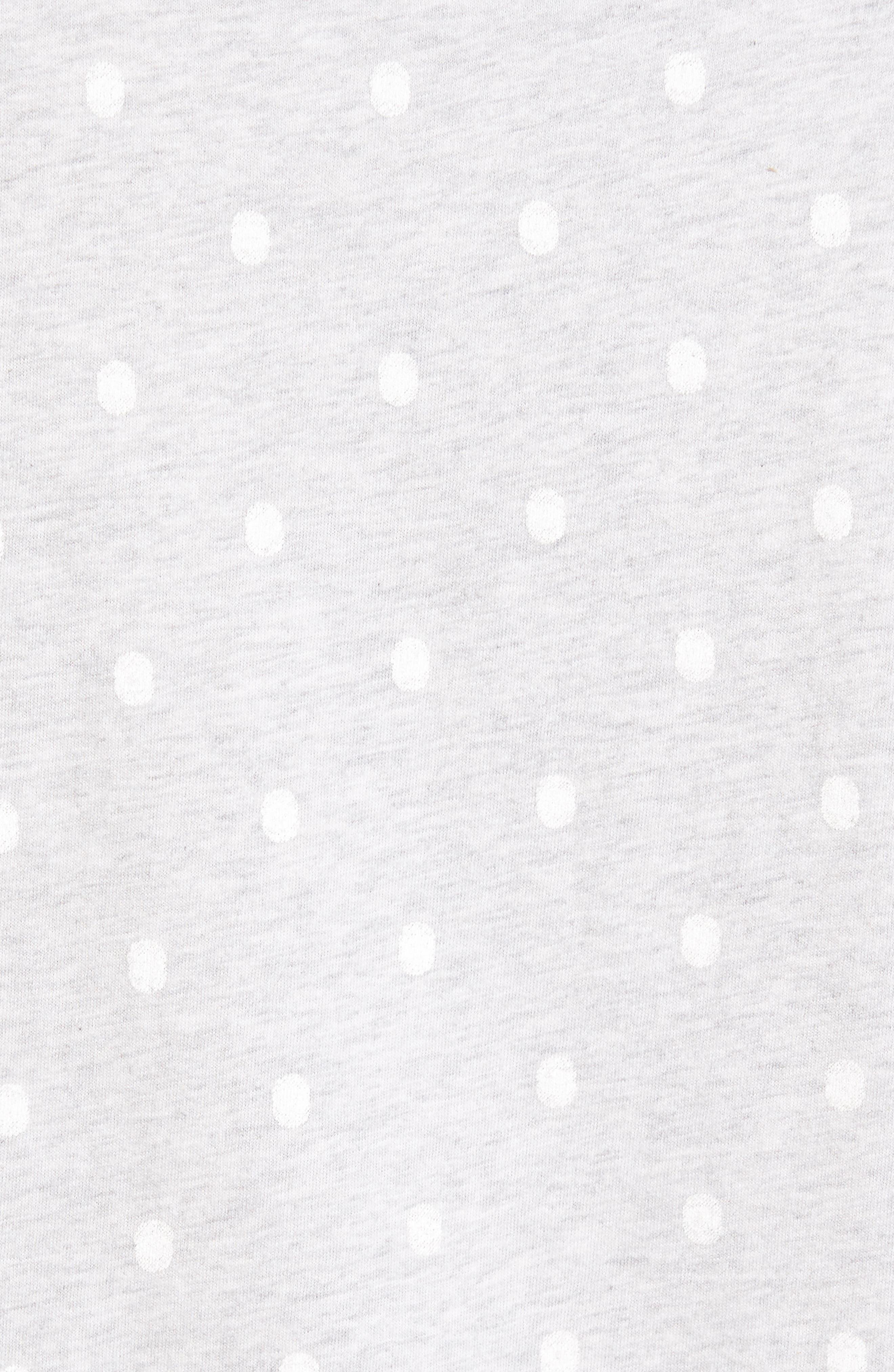 Polka Dot T-Shirt,                             Alternate thumbnail 5, color,                             020