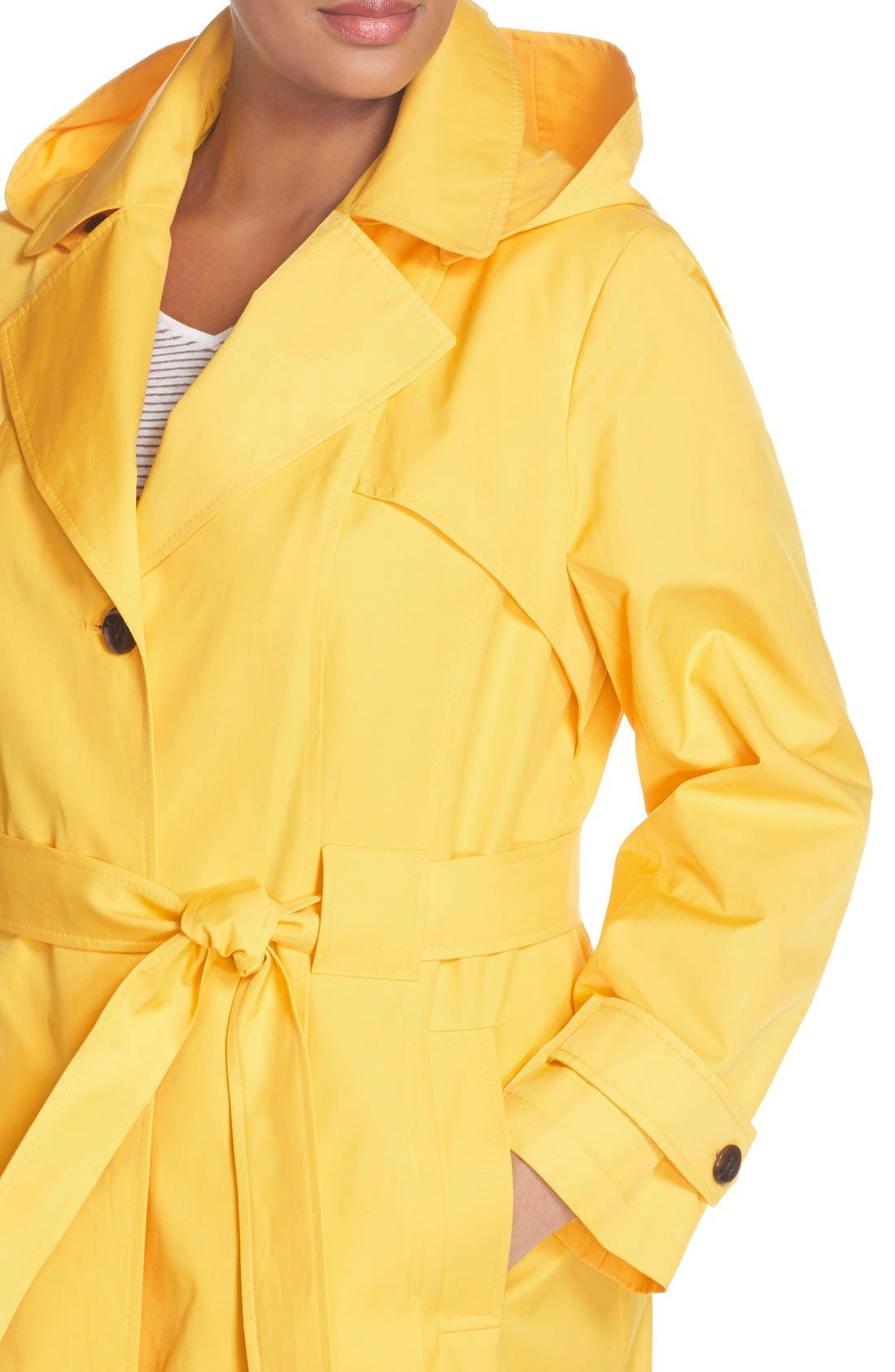 'Scarpa' Single Breasted Trench Coat,                             Alternate thumbnail 29, color,