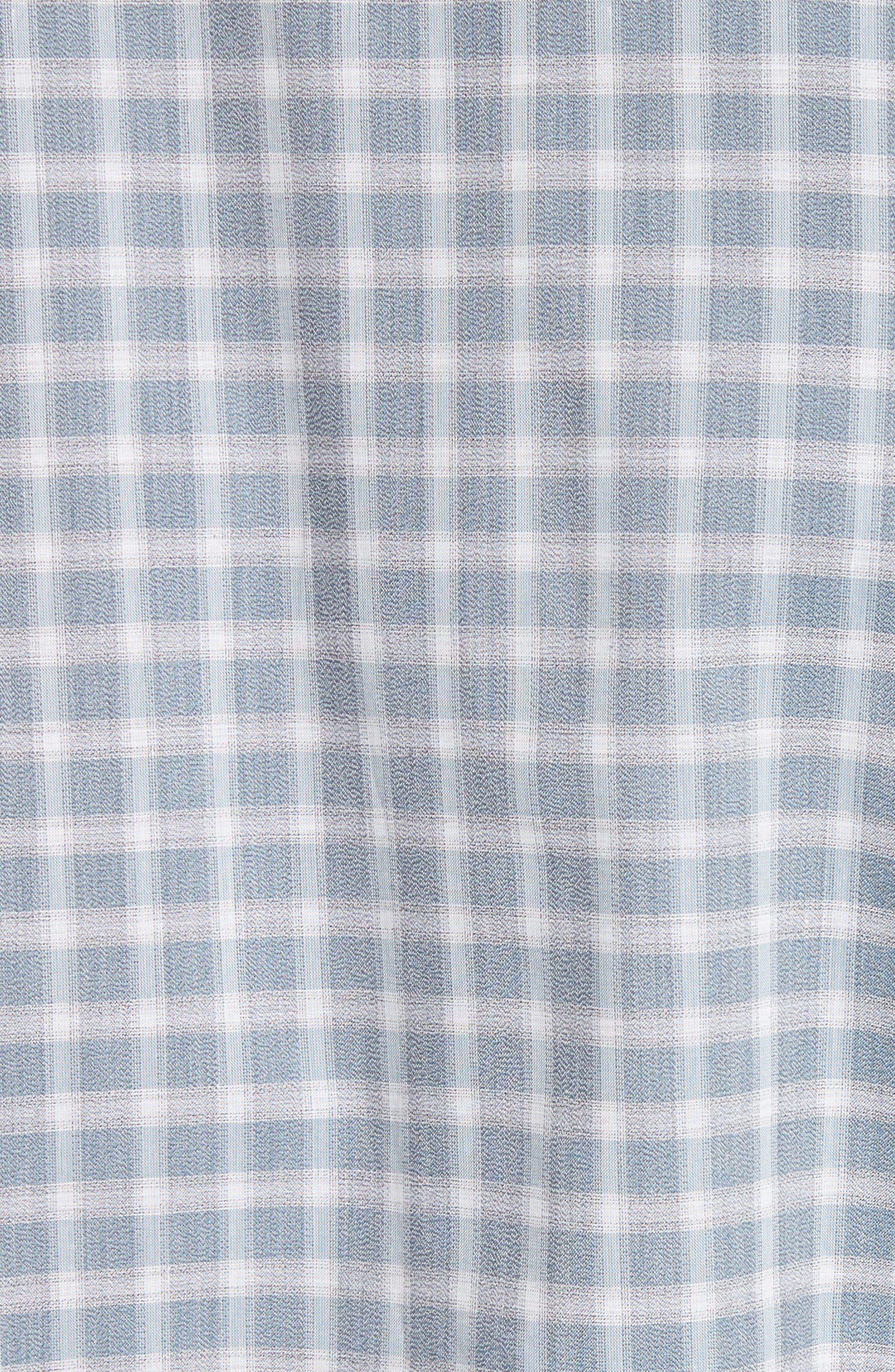 Gradient Check Sport Shirt,                             Alternate thumbnail 5, color,                             450