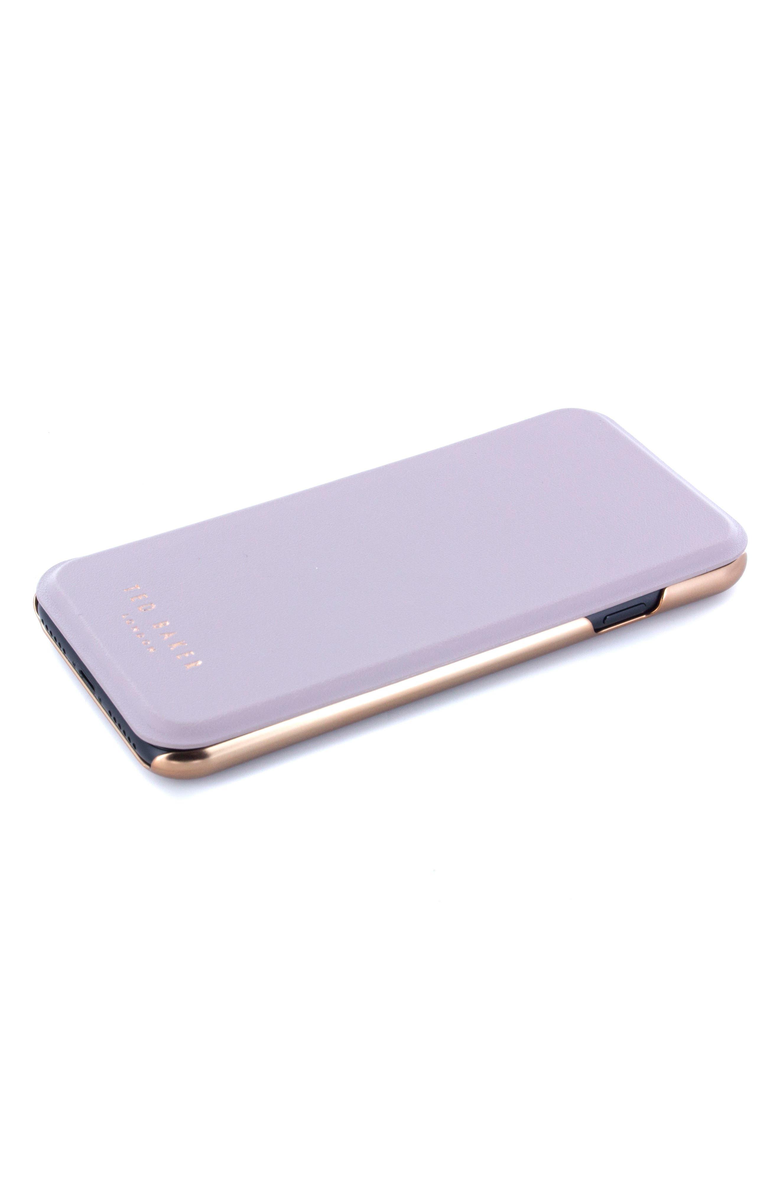 Shannon iPhone 6/6s/7/8 & 6/6s/7/8 Plus Mirror Folio Case,                             Alternate thumbnail 5, color,                             530