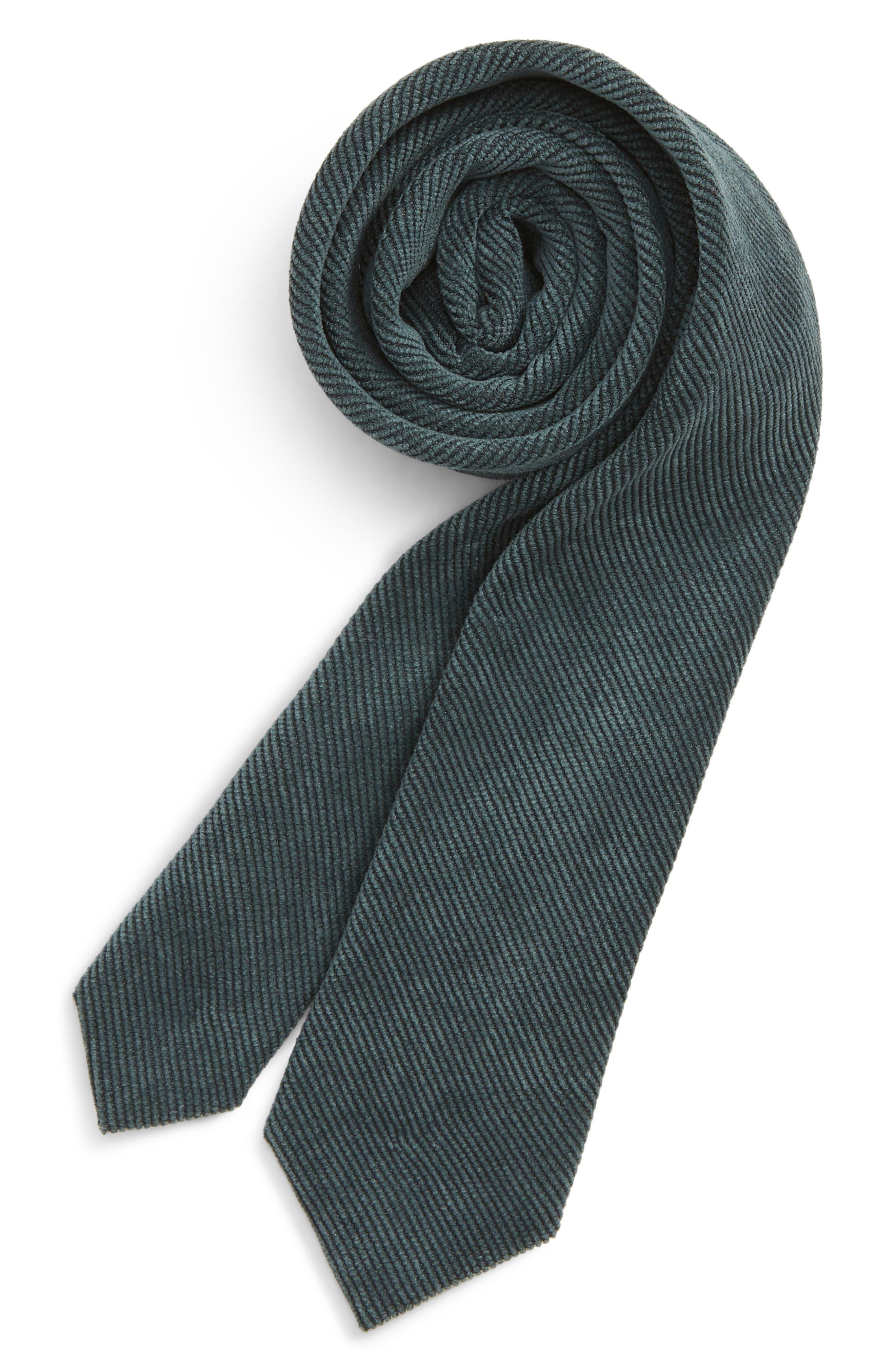 Corduroy Tie,                             Main thumbnail 1, color,                             300