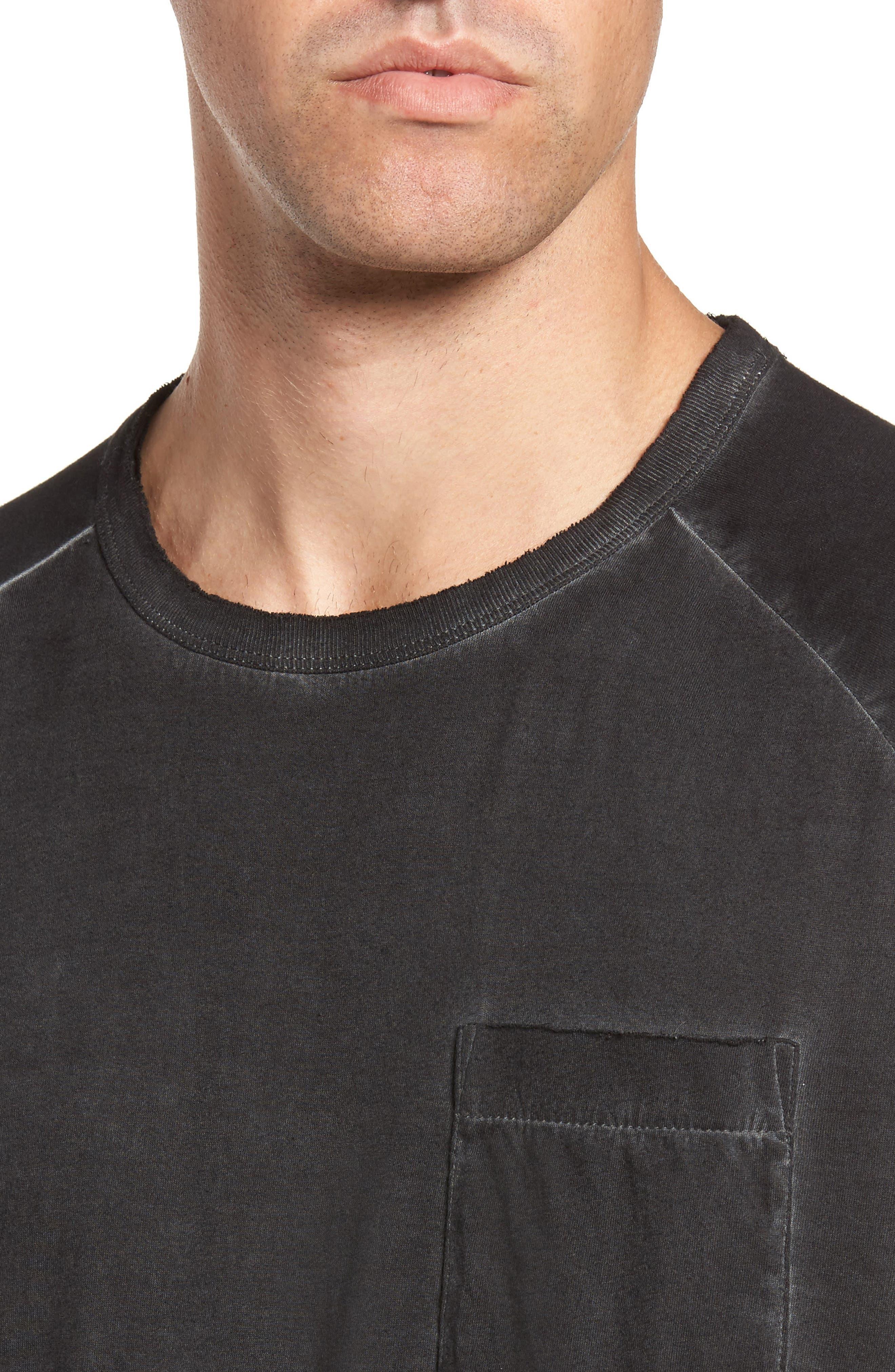 Pigment Dye Longline T-Shirt,                             Alternate thumbnail 7, color,