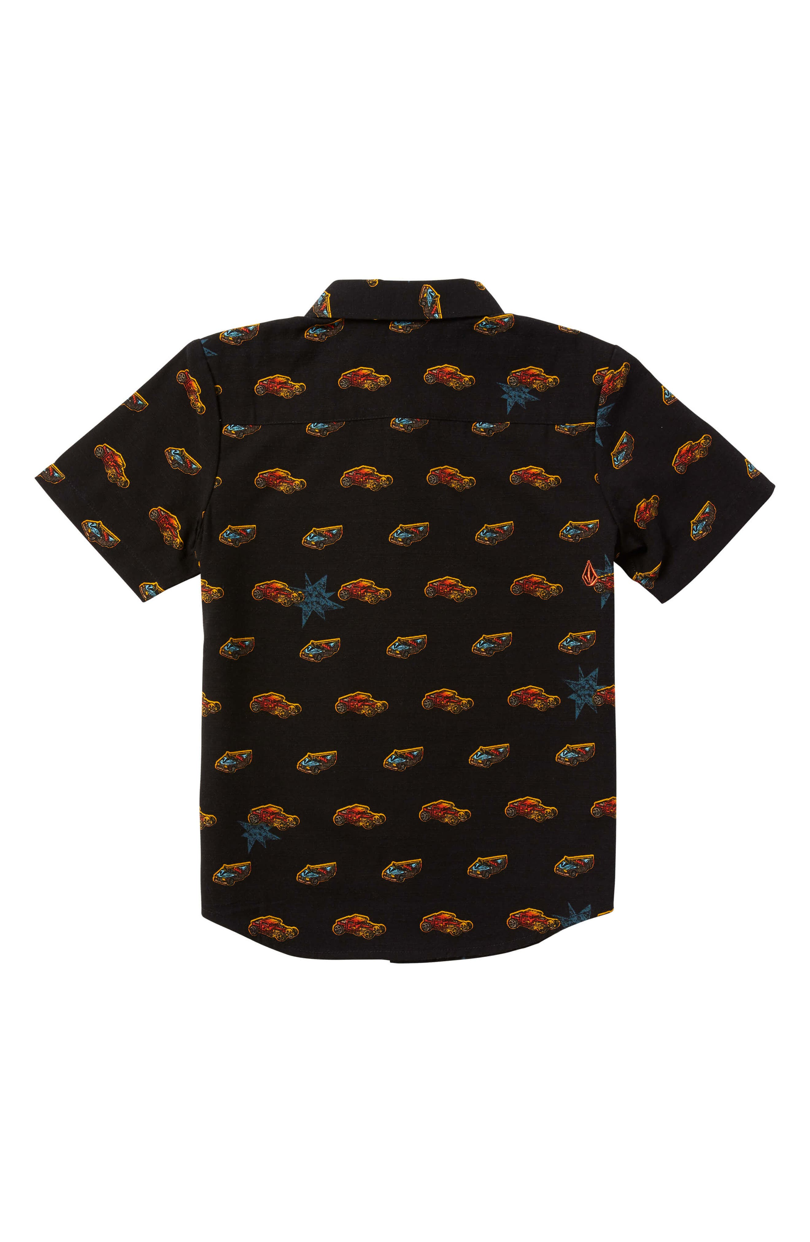 VOLCOM,                             x Hot Wheels<sup>®</sup> Woven Shirt,                             Alternate thumbnail 2, color,                             001