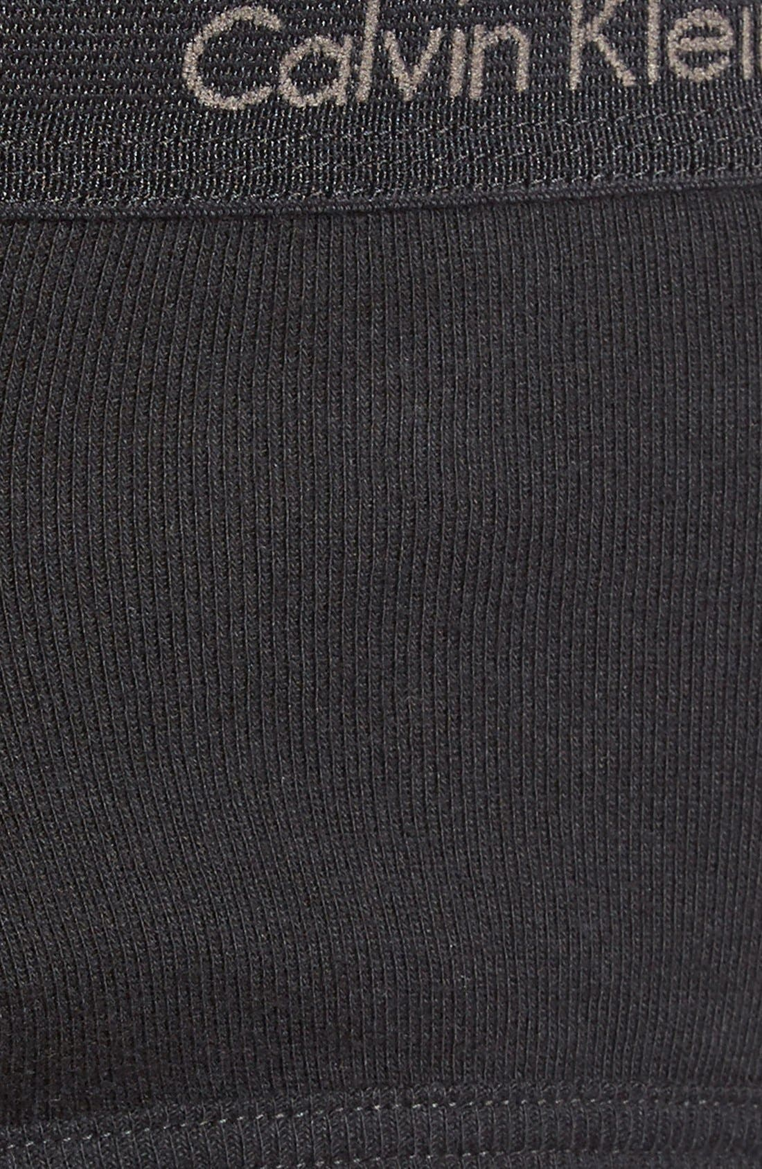 2-Pack Cotton Briefs,                             Alternate thumbnail 3, color,                             001