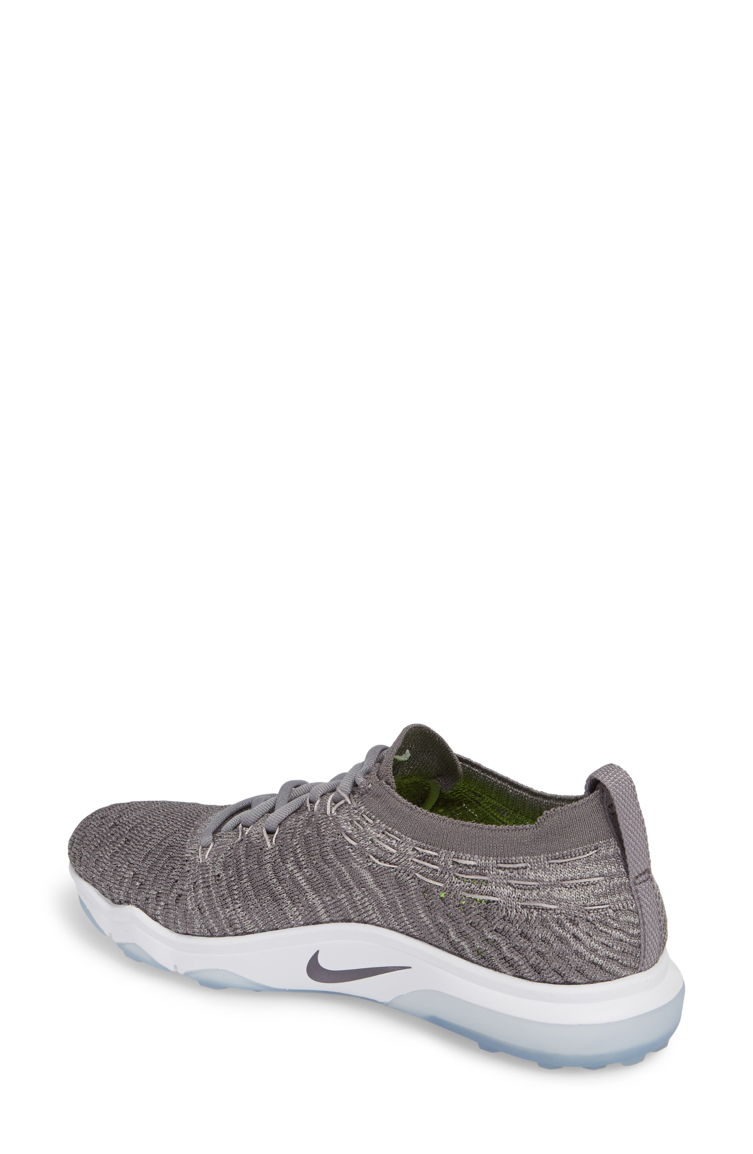 Air Zoom Fearless Flyknit Lux Training Shoe,                             Alternate thumbnail 6, color,