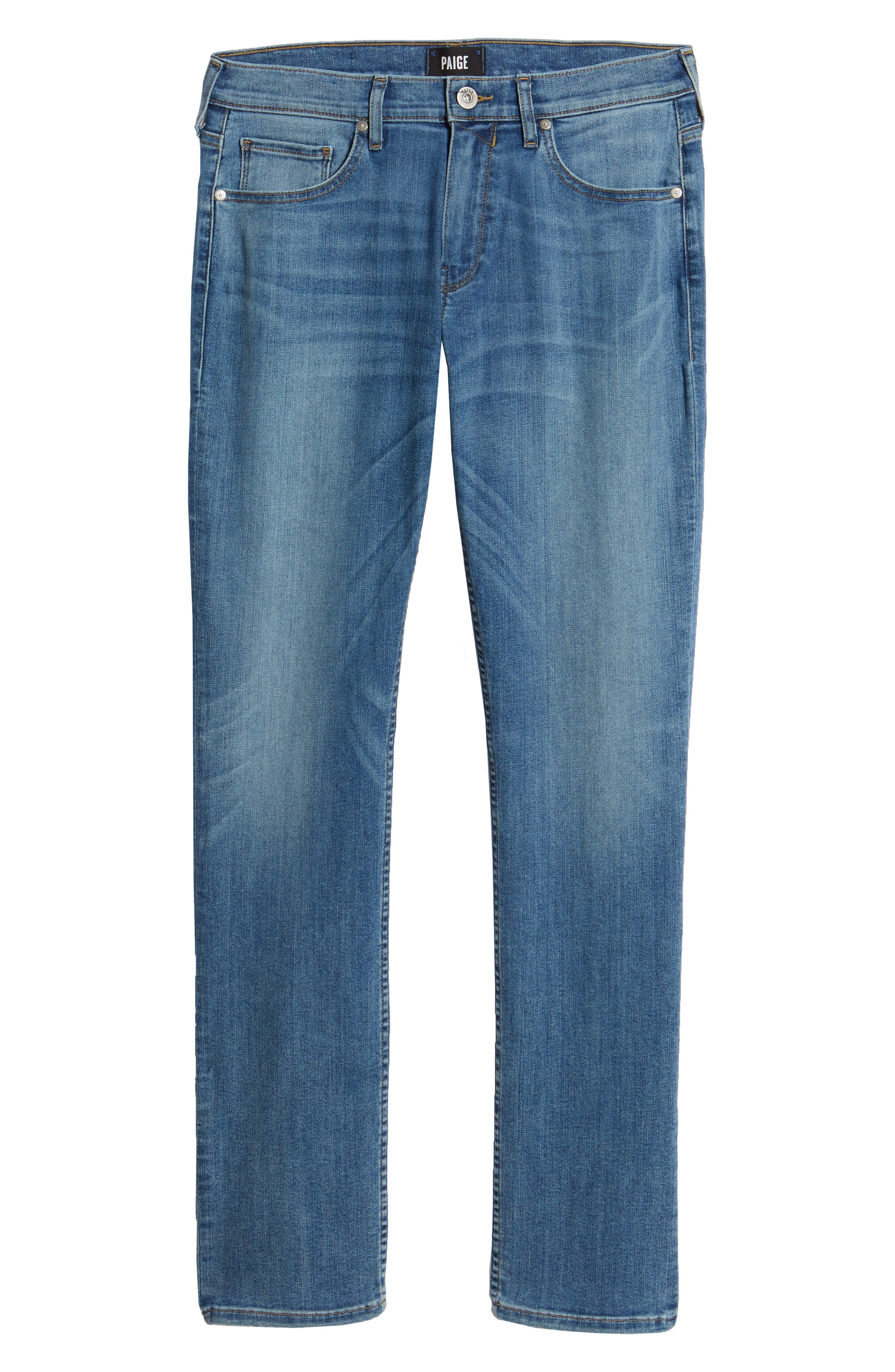 PAIGE,                             Federal Slim Straight Leg Jeans,                             Alternate thumbnail 6, color,                             400