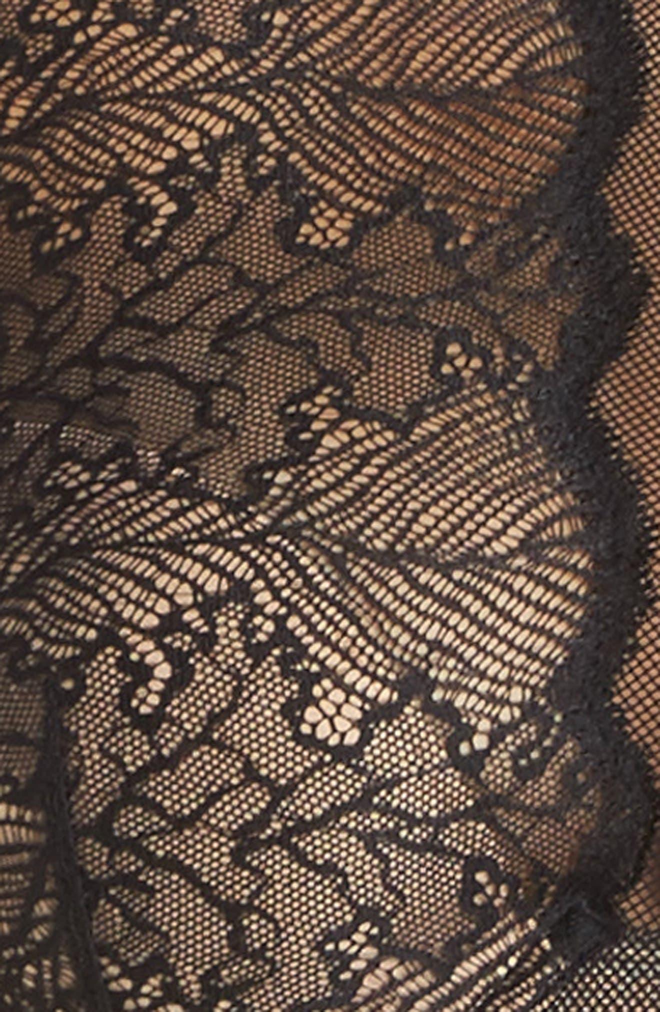 Lace Bralette,                             Alternate thumbnail 4, color,