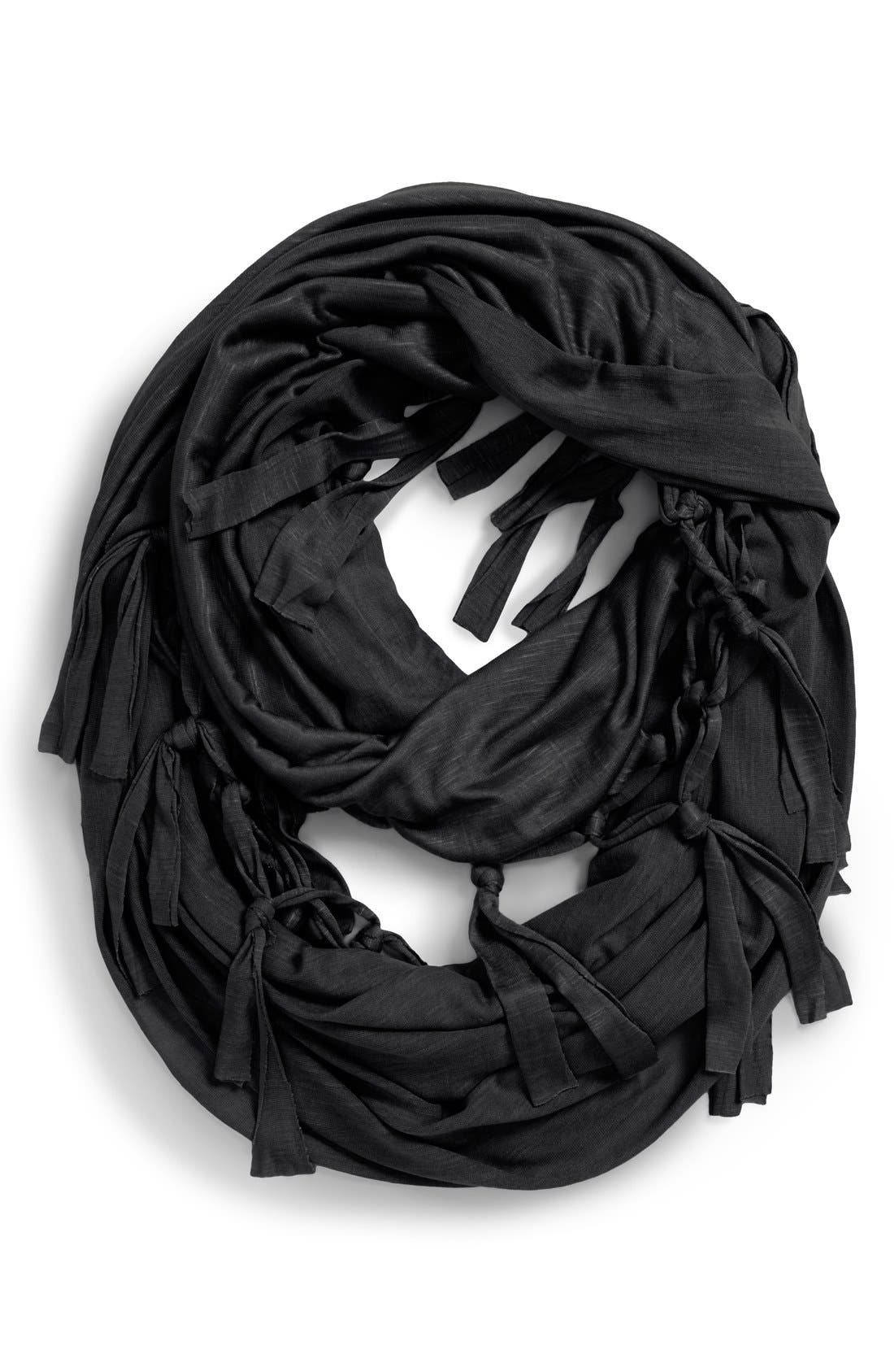 neration 'Tassel Tease' Infinity Scarf, Main, color, 001