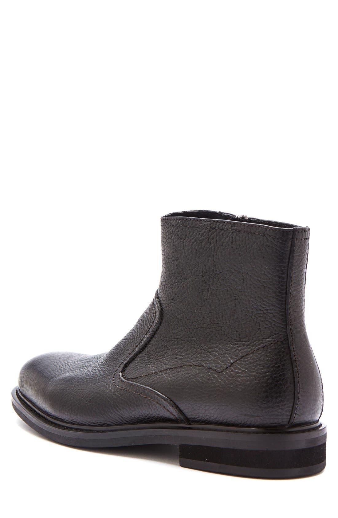 'Fried' Waterproof Zip Boot,                             Alternate thumbnail 2, color,                             001