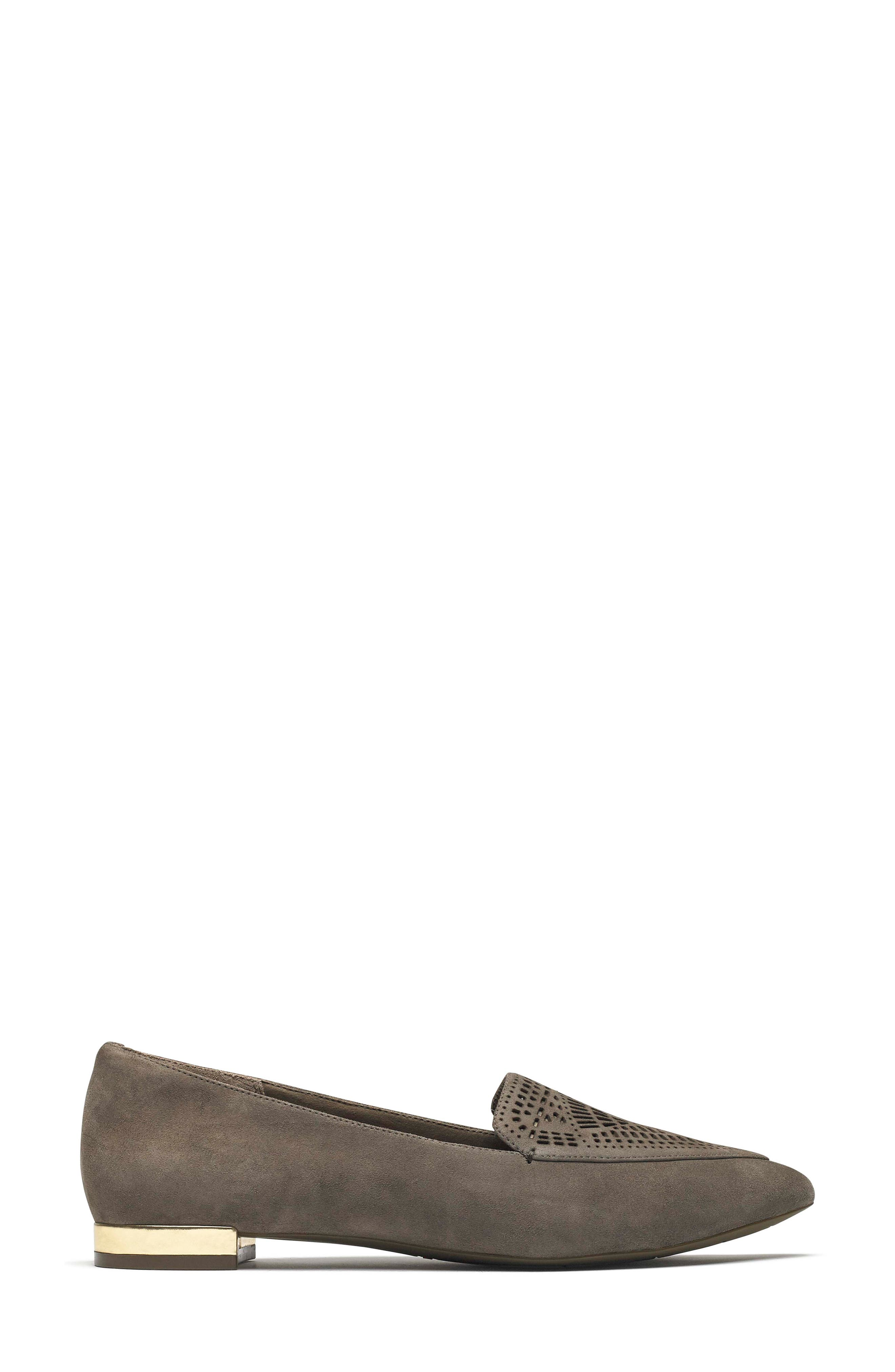 Total Motion Adelyn Loafer,                             Alternate thumbnail 3, color,                             WARM IRON