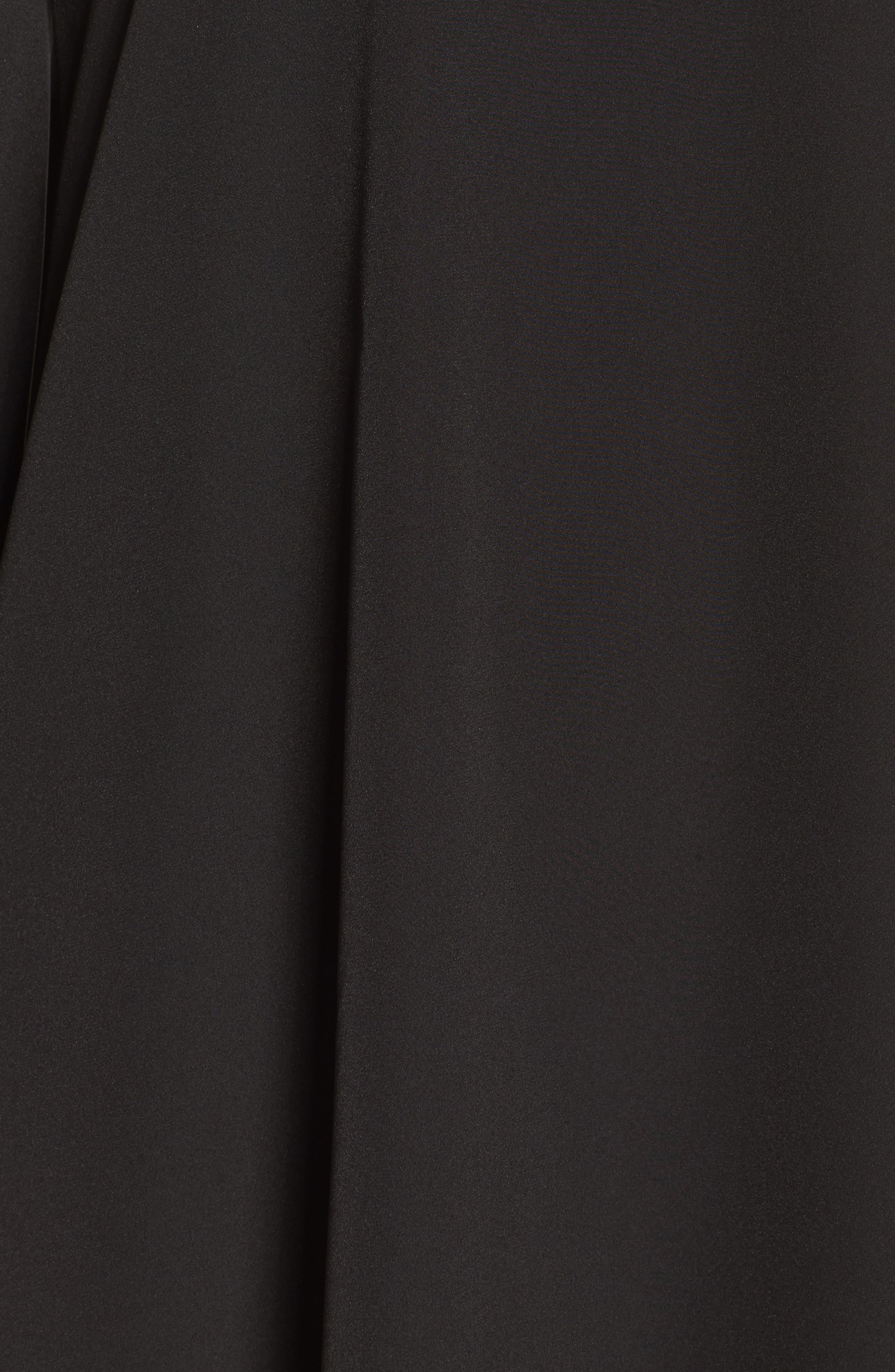 A BY AMANDA,                             Luella One-Shoulder Dress,                             Alternate thumbnail 4, color,                             001