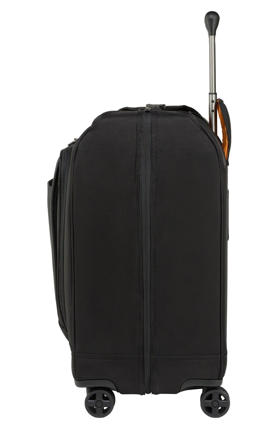 WT 5.0 Dual Caster Wheeled Garment Bag,                             Alternate thumbnail 4, color,                             001