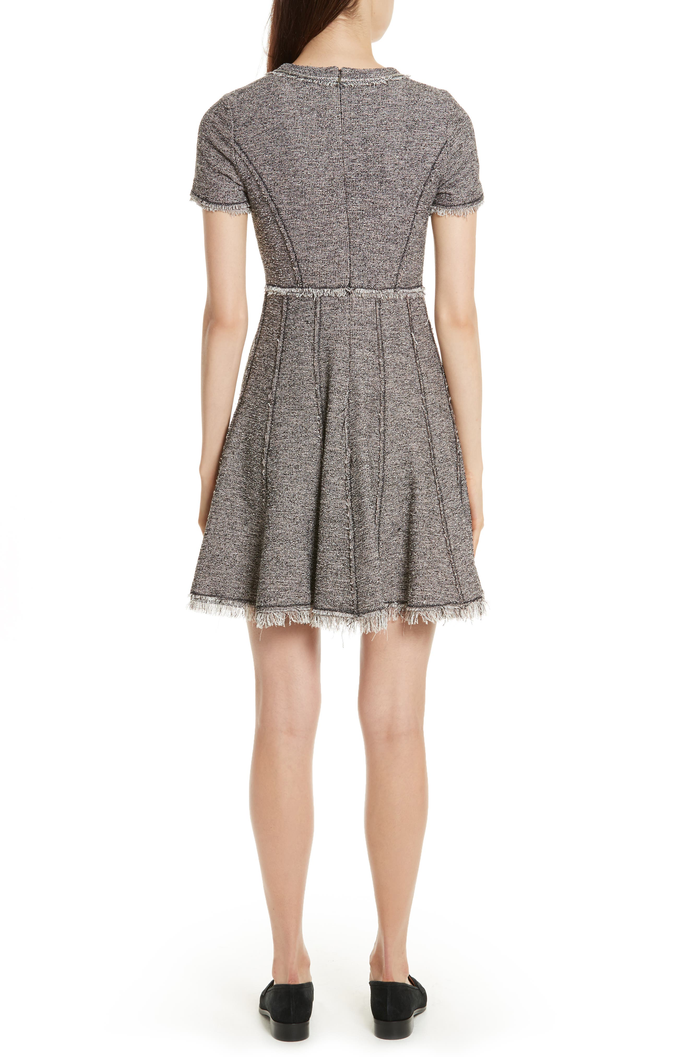 Stretch Tweed Dress,                             Alternate thumbnail 2, color,                             256