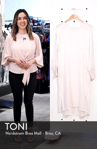 Rata Linen Shift Dress, sales video thumbnail