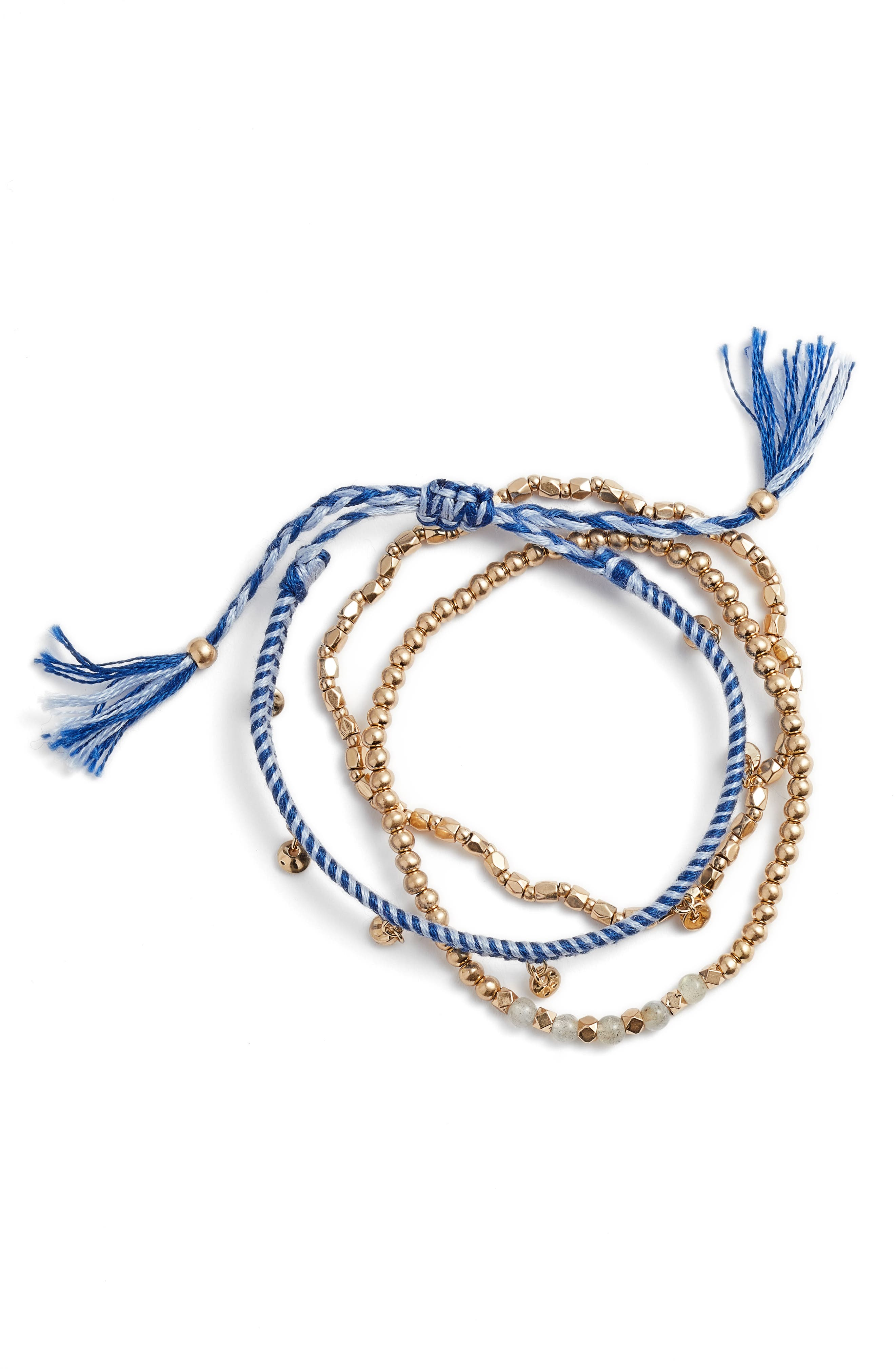 Delicate Friendship Bracelet,                         Main,                         color, 401