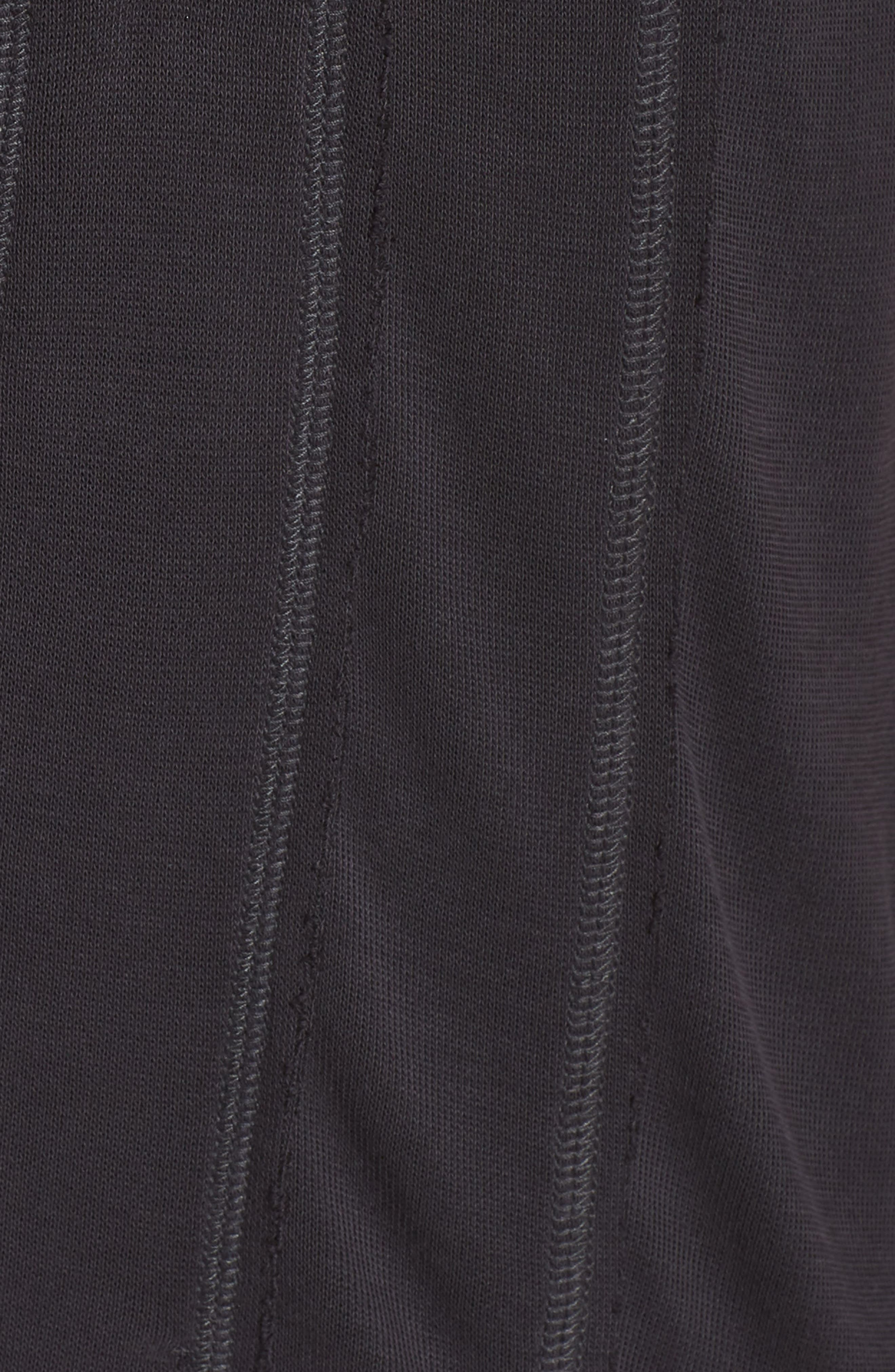 Just Like That Half-Zip Pullover,                             Alternate thumbnail 6, color,                             BLACK