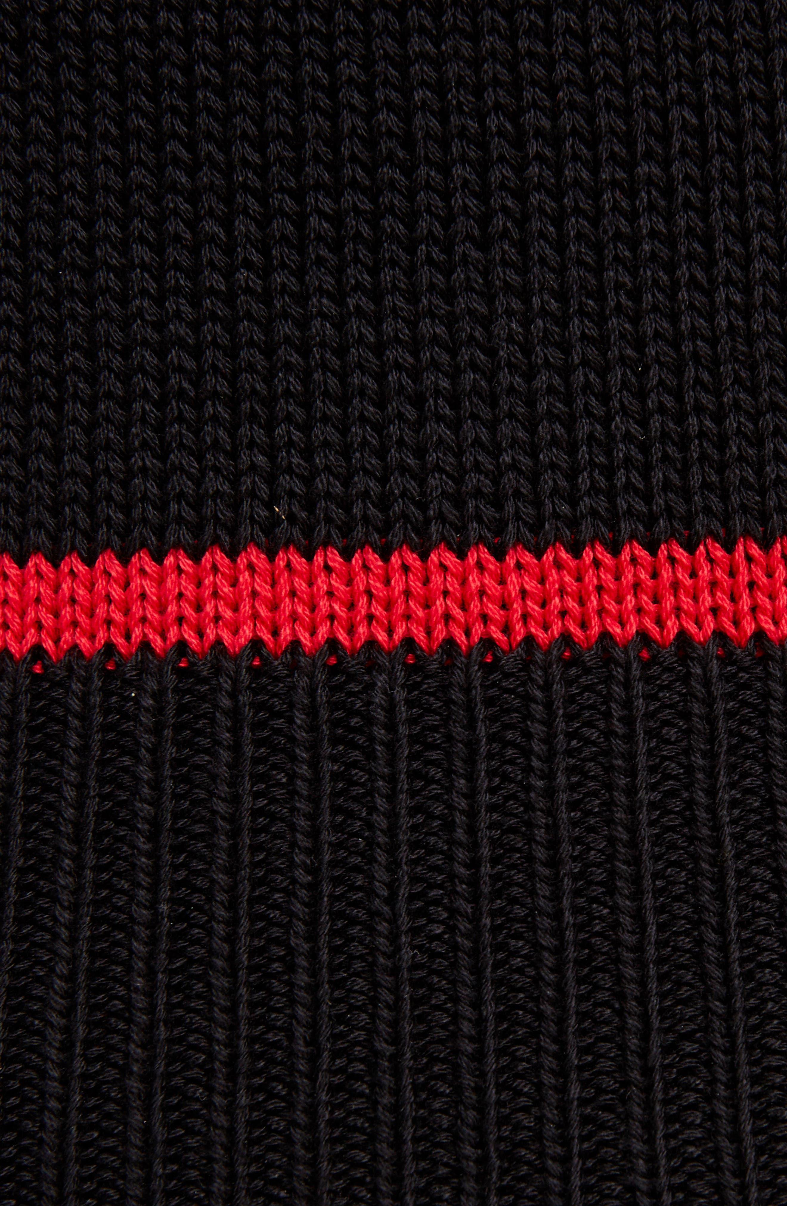 Crystal Embellished Knit Camisole,                             Alternate thumbnail 5, color,                             001