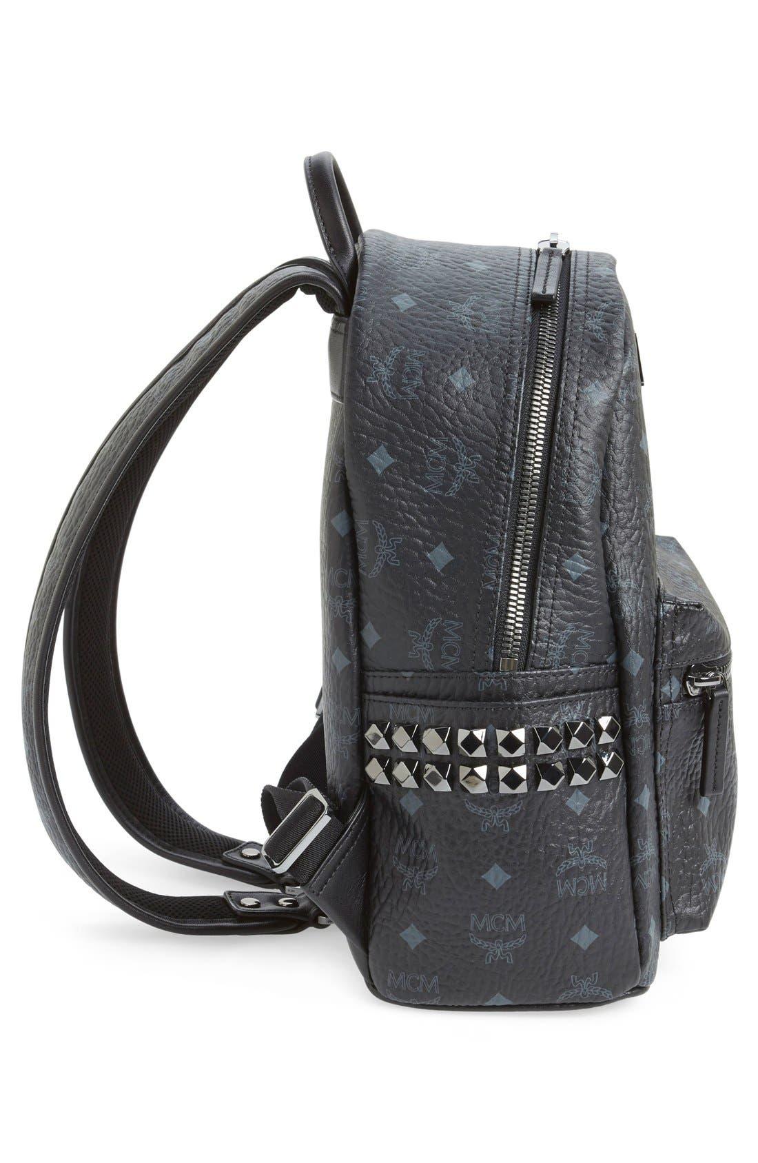 Small Stark Side Stud Backpack,                             Alternate thumbnail 5, color,                             001