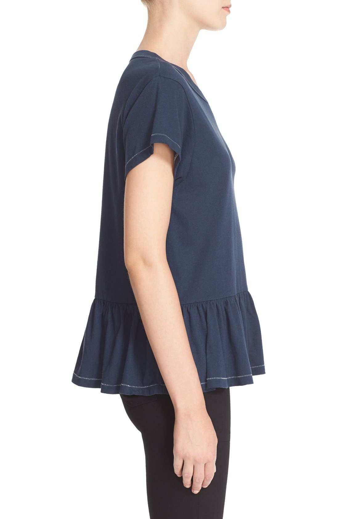The Ruffle Tee,                             Alternate thumbnail 30, color,