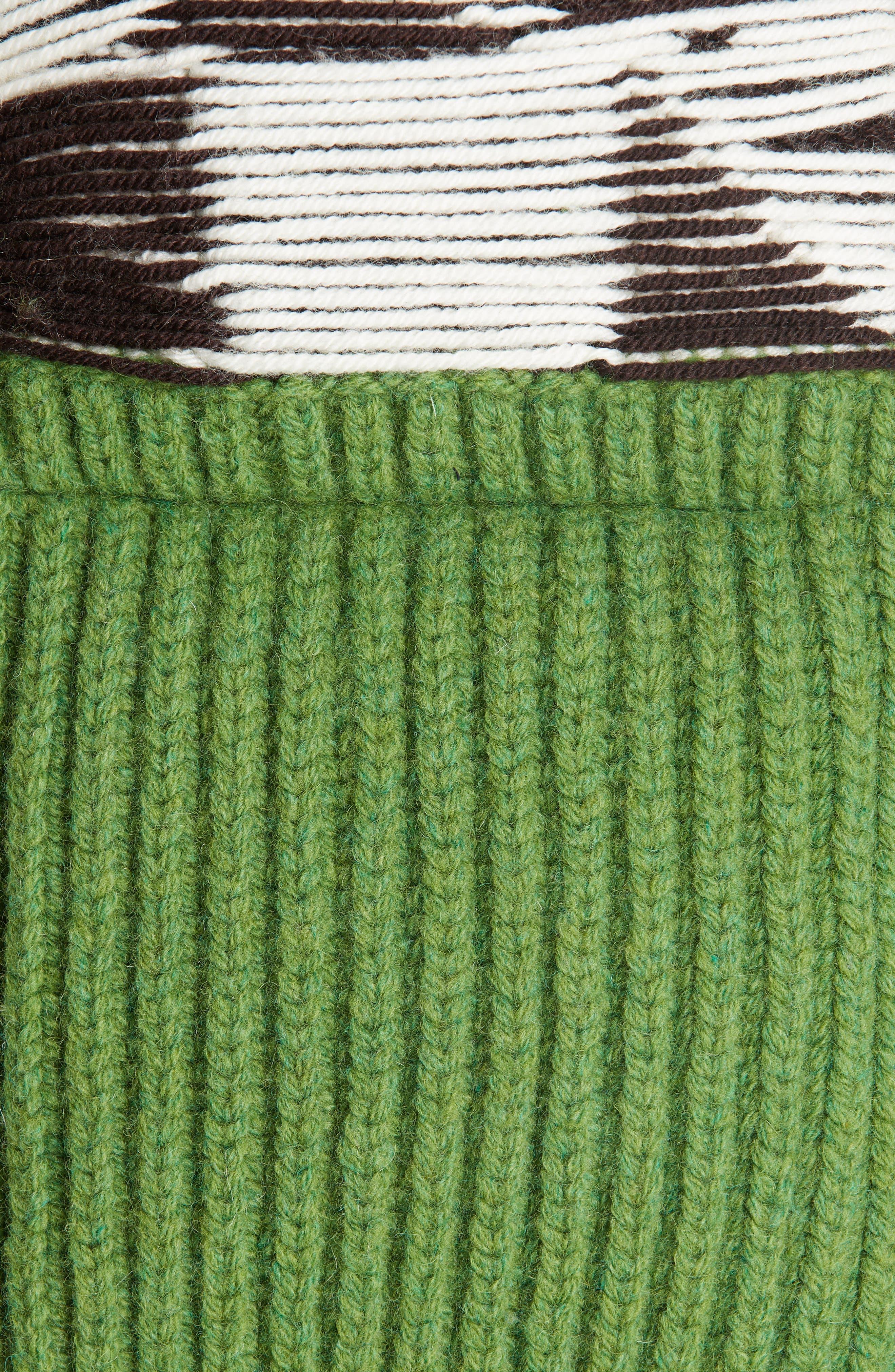 Body Warmer Vest,                             Alternate thumbnail 5, color,                             GREEN FERN