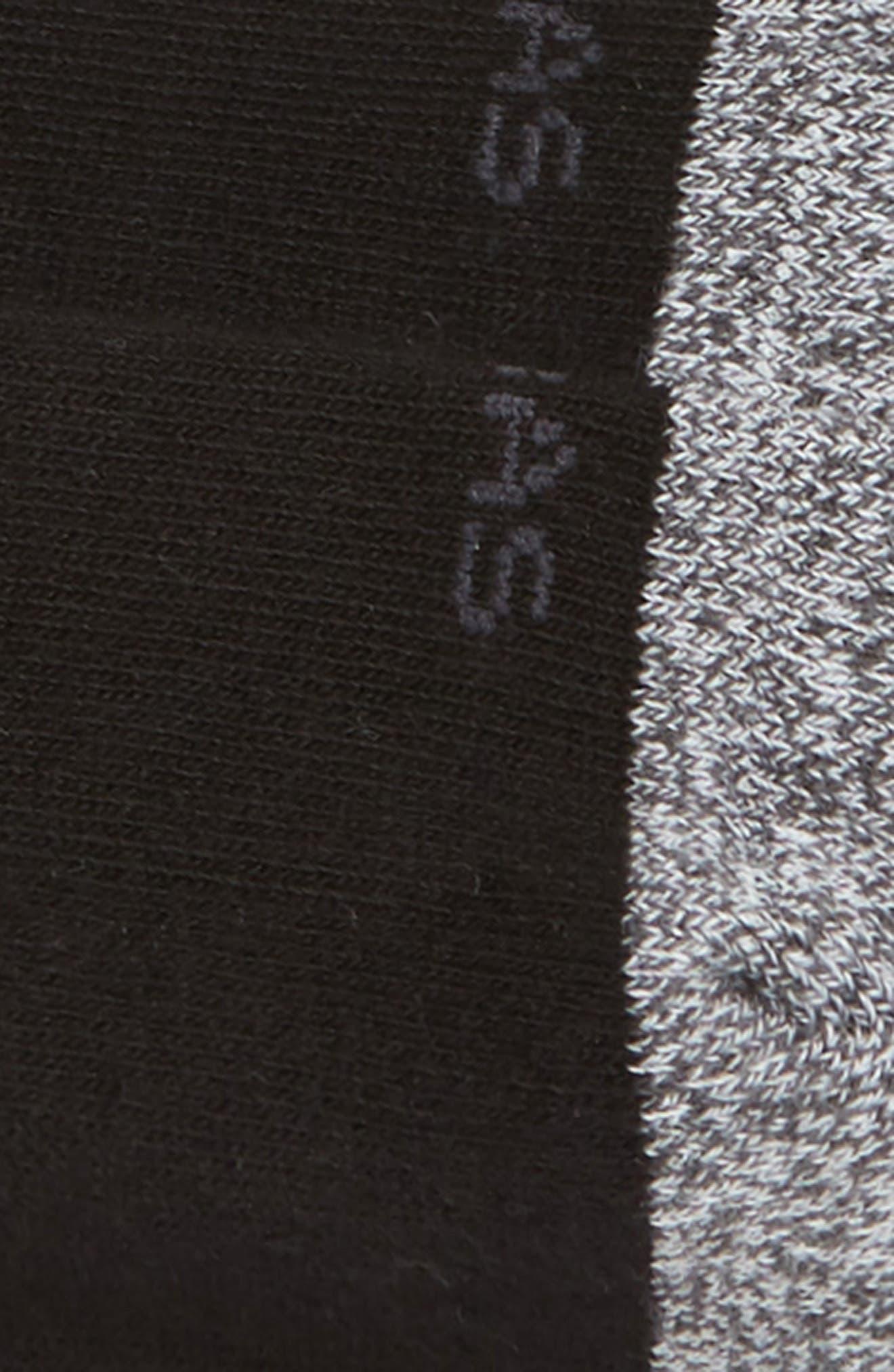 Cushioned No-Show Socks,                             Alternate thumbnail 2, color,                             BLACK