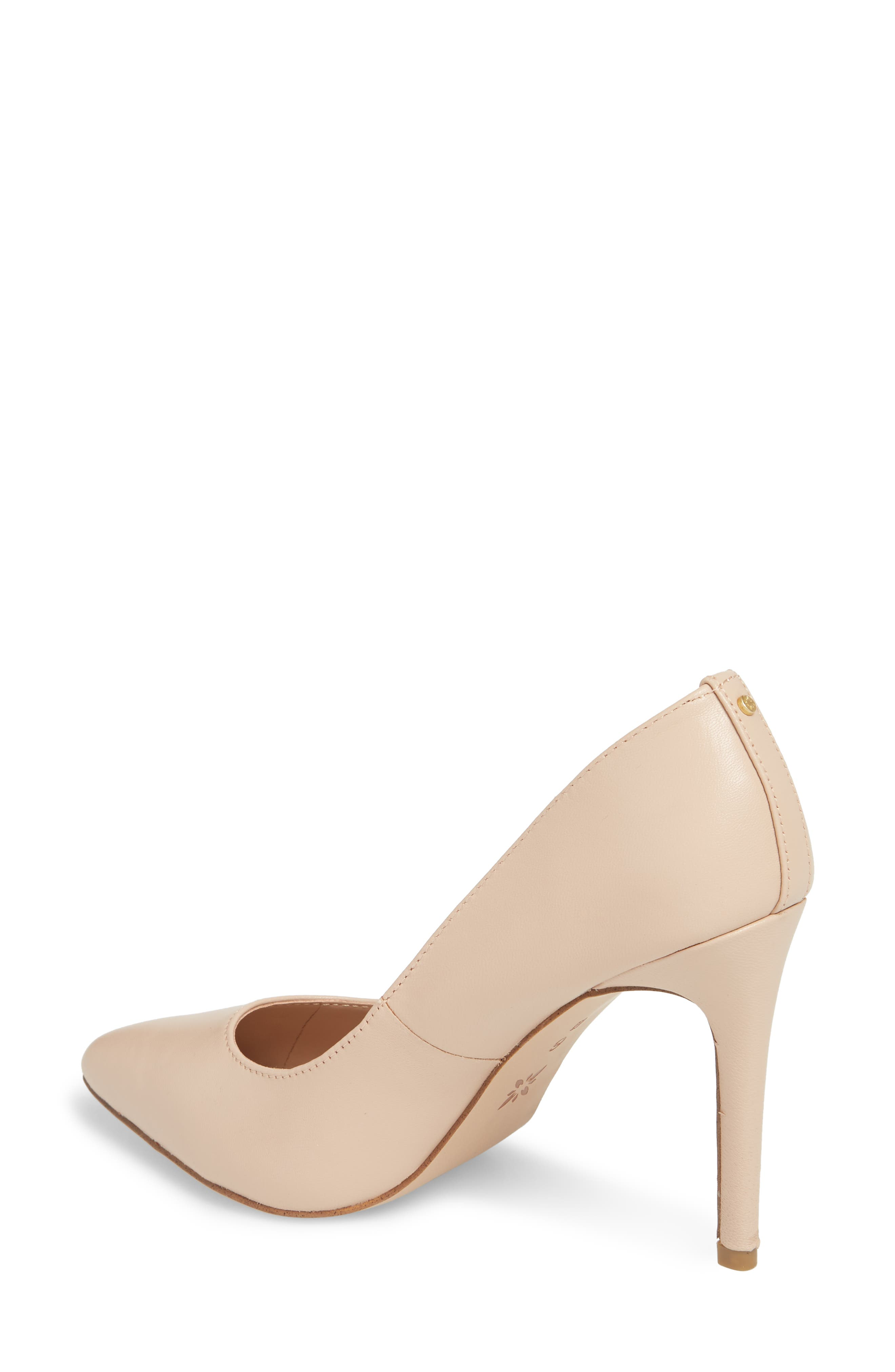 BCBG,                             Heidi Pump,                             Alternate thumbnail 2, color,                             SHELL LEATHER