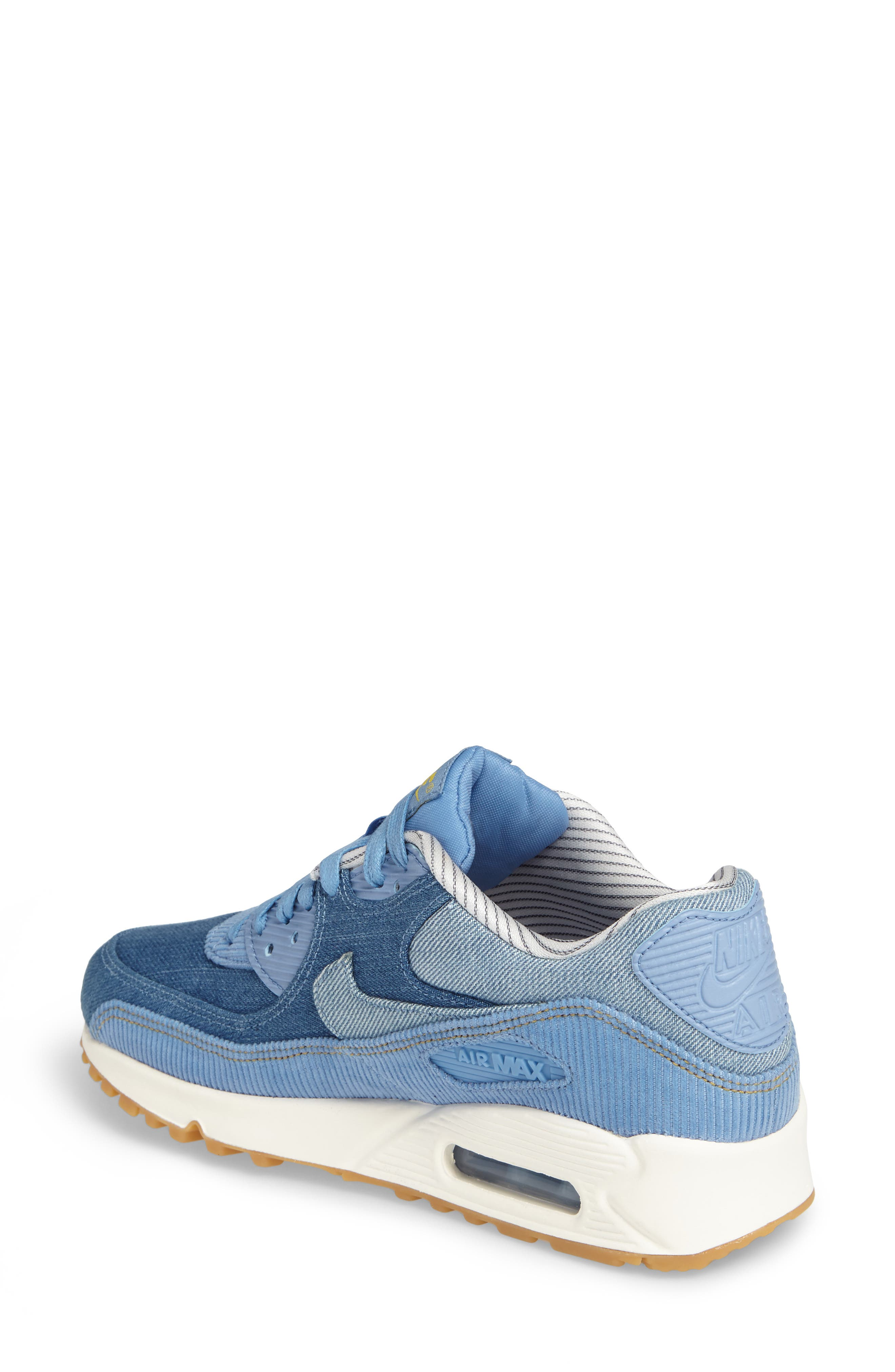 Air Max 90 SE Sneaker,                             Alternate thumbnail 17, color,