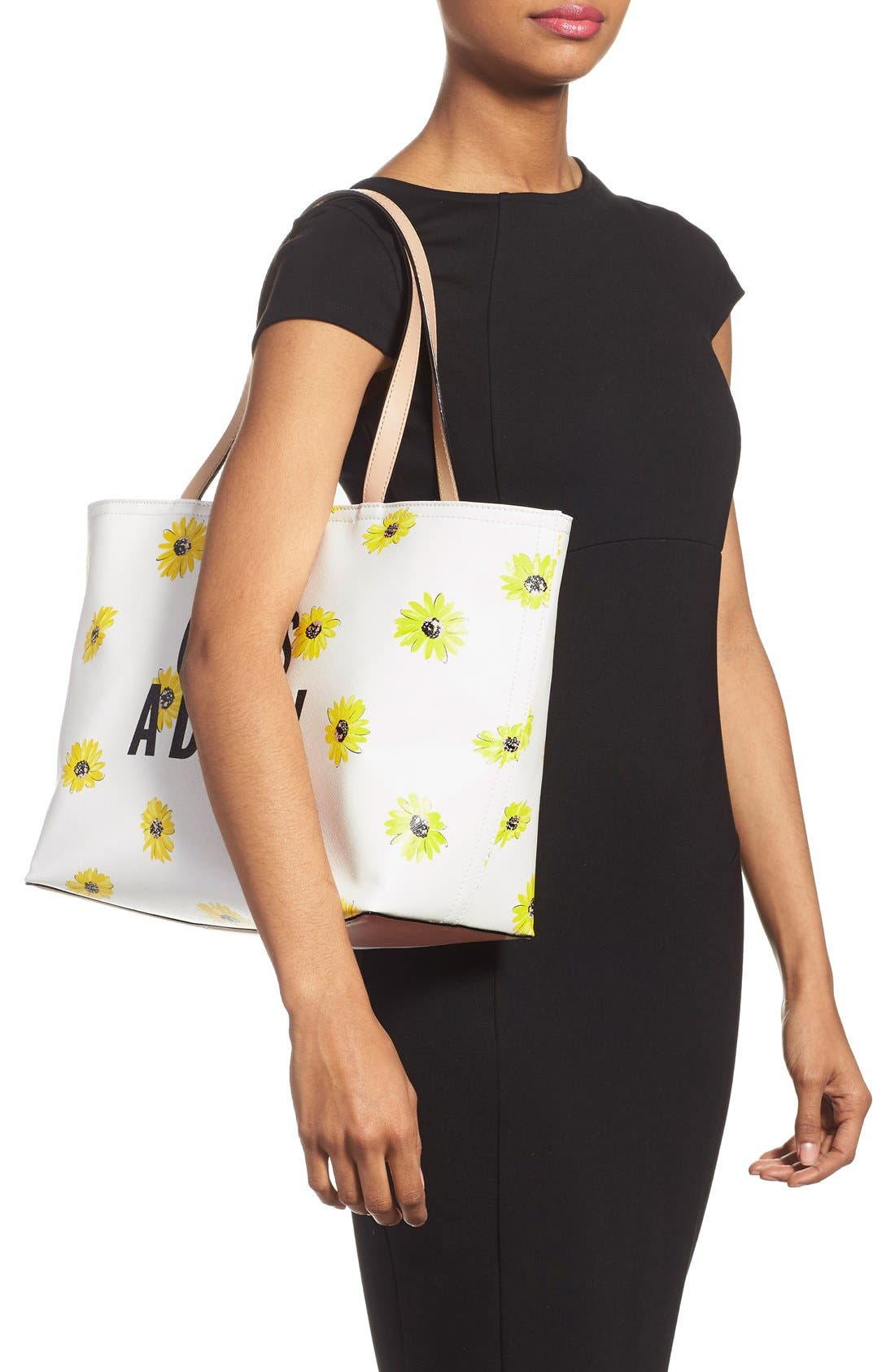 'oops-a-daisy - francis' tote,                             Alternate thumbnail 2, color,                             250