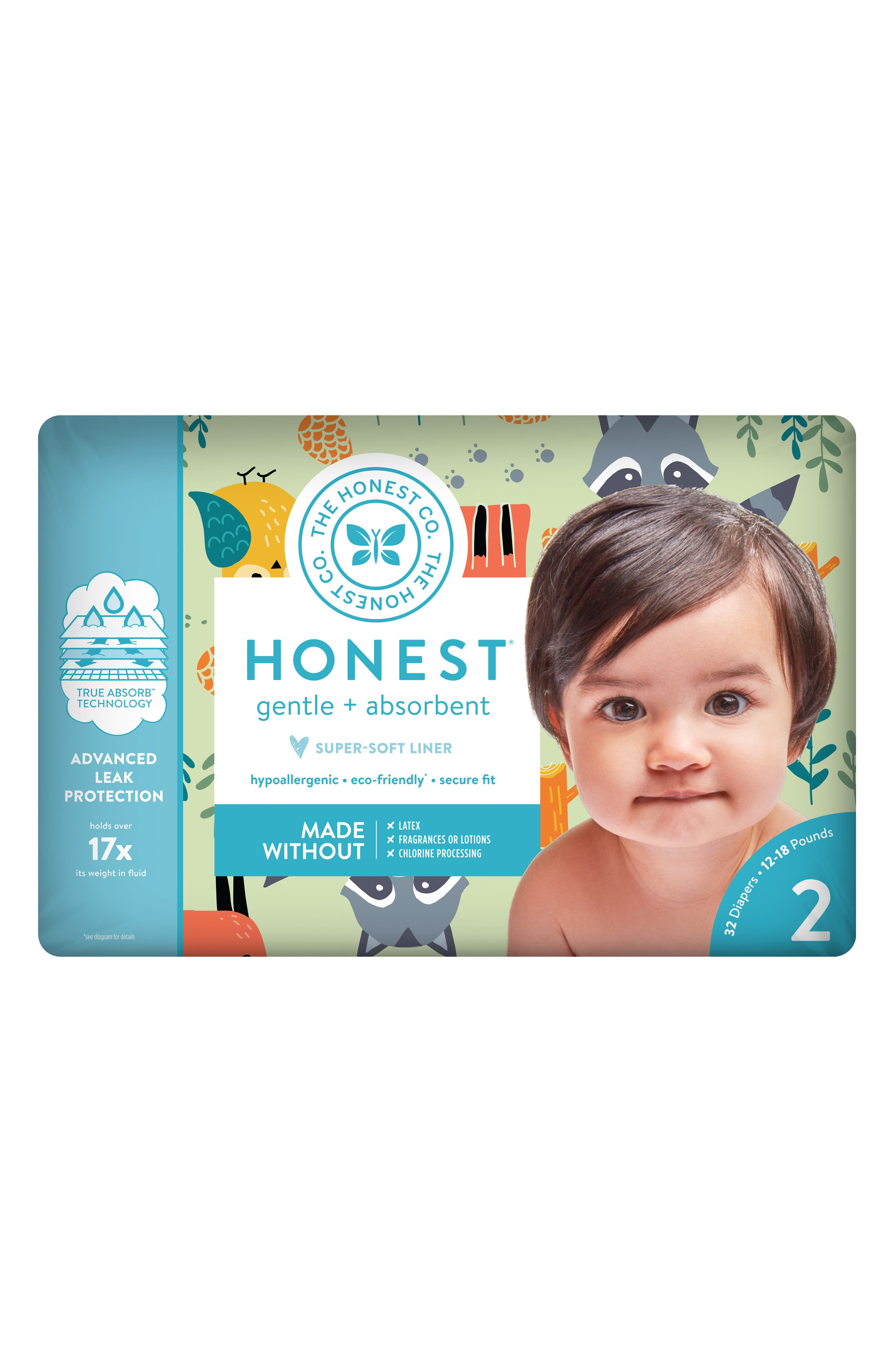 Little Forest Diapers,                             Alternate thumbnail 4, color,                             300