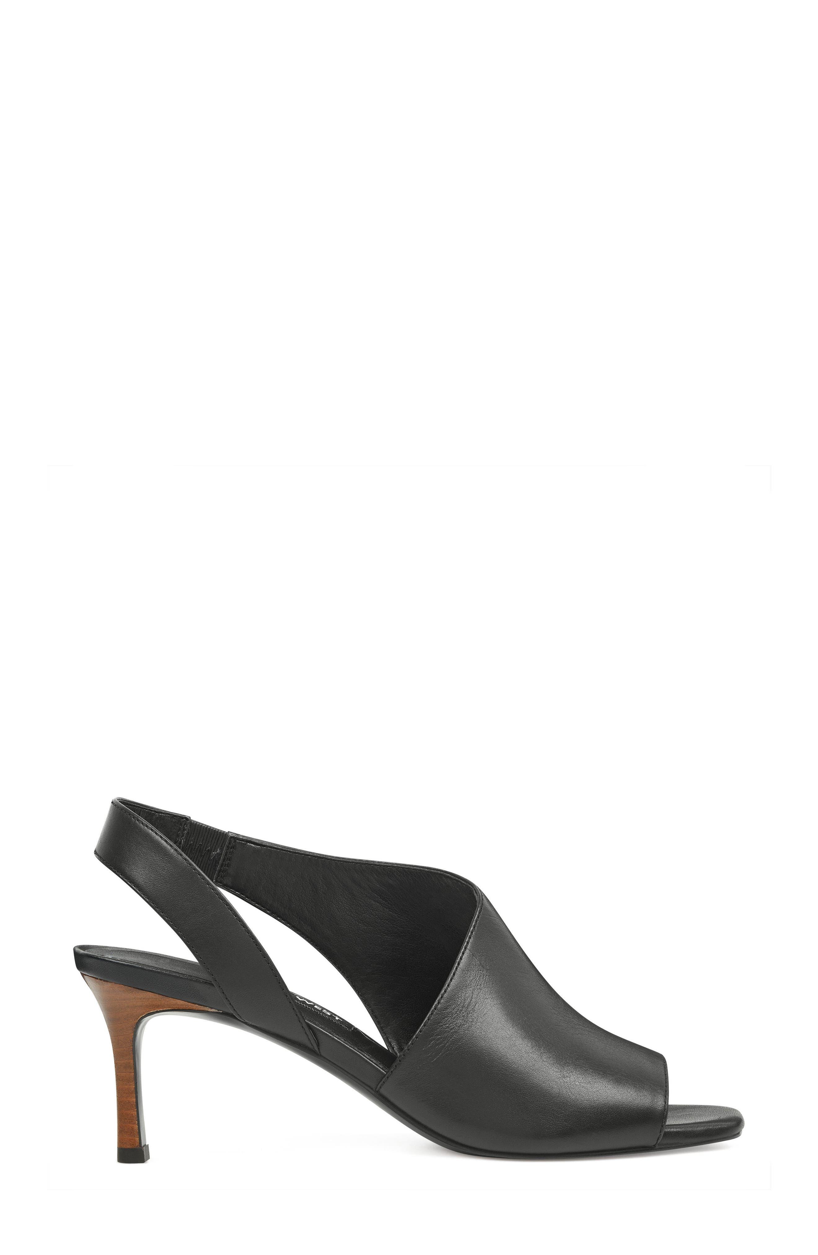 Orrus Asymmetrical Sandal,                             Alternate thumbnail 3, color,                             001