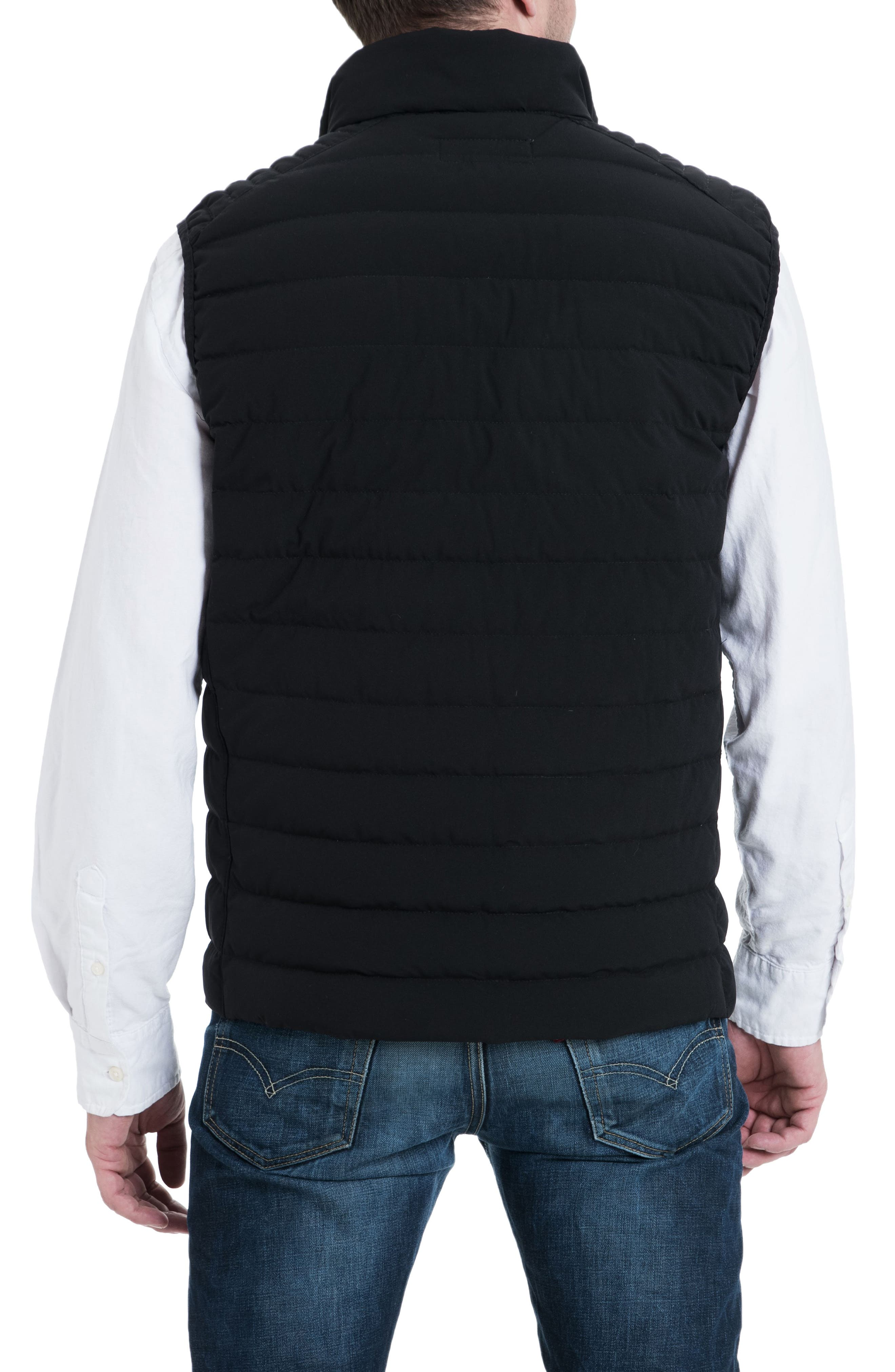 Marshall Vest,                             Alternate thumbnail 2, color,                             BLACK