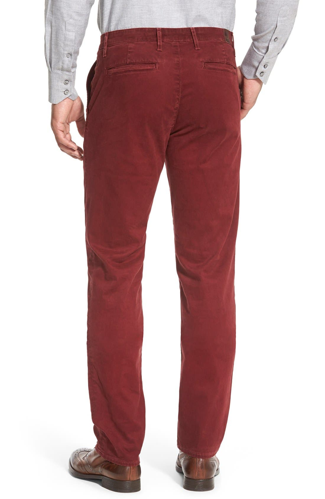 'The Lux' Tailored Straight Leg Chinos,                             Alternate thumbnail 28, color,