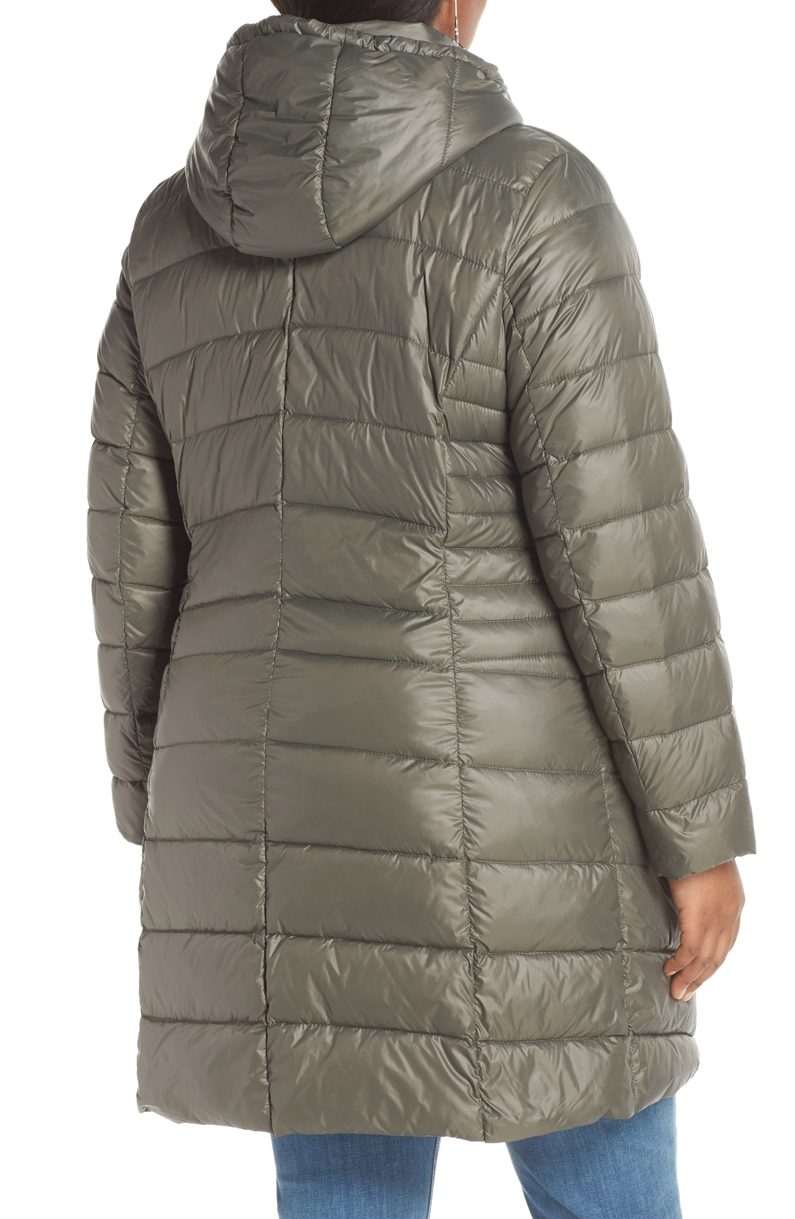 HALOGEN<SUP>®</SUP>,                             Hooded Puffer Jacket,                             Alternate thumbnail 2, color,                             030