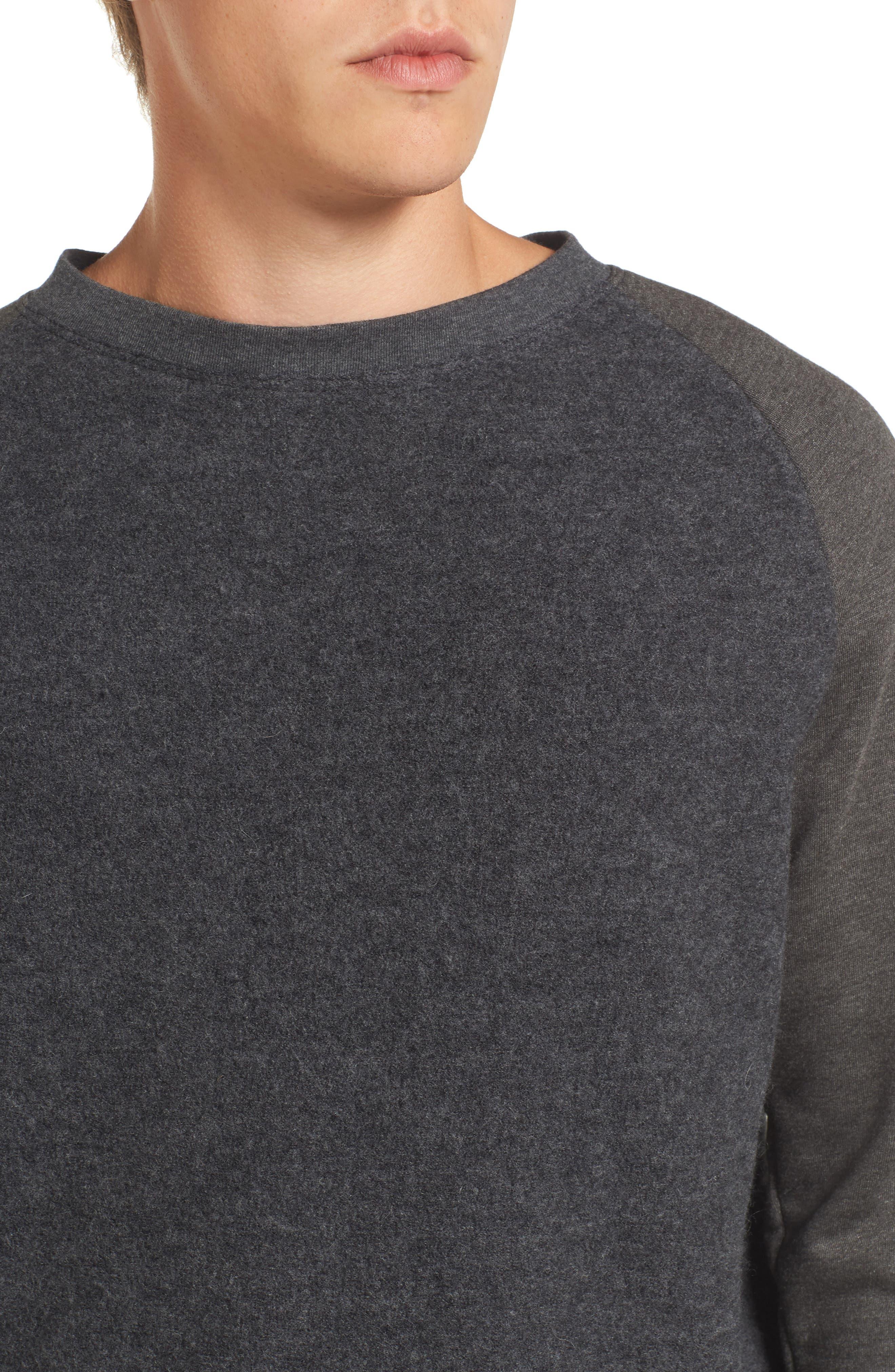 Crewneck Sweater,                             Alternate thumbnail 4, color,