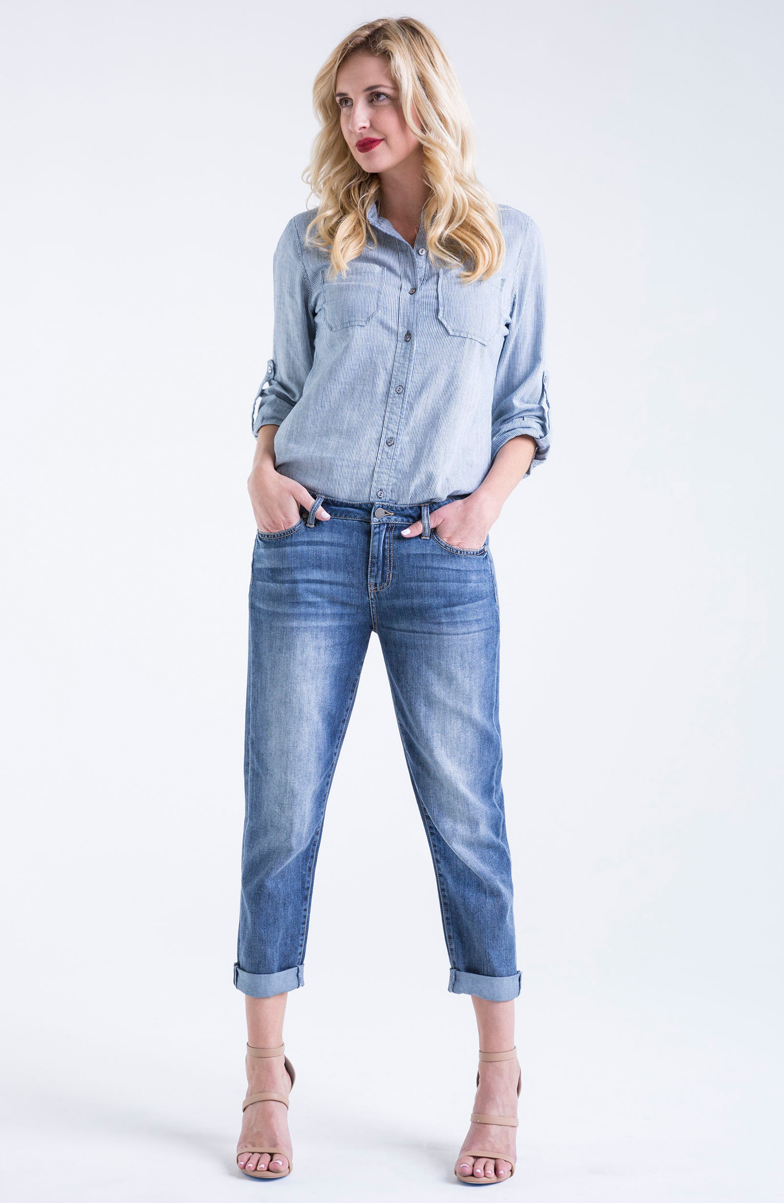 Cameron Crop Boyfriend Jeans,                             Alternate thumbnail 12, color,