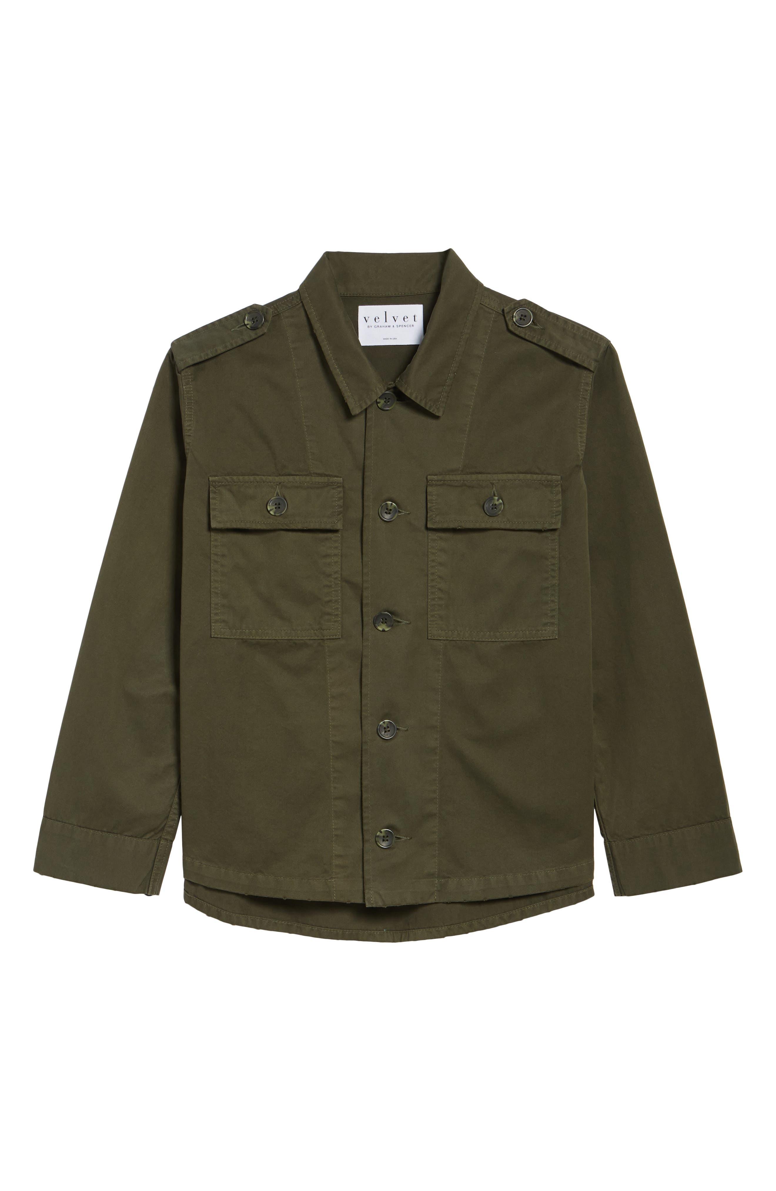 Workwear Cotton Jacket,                             Alternate thumbnail 6, color,                             301