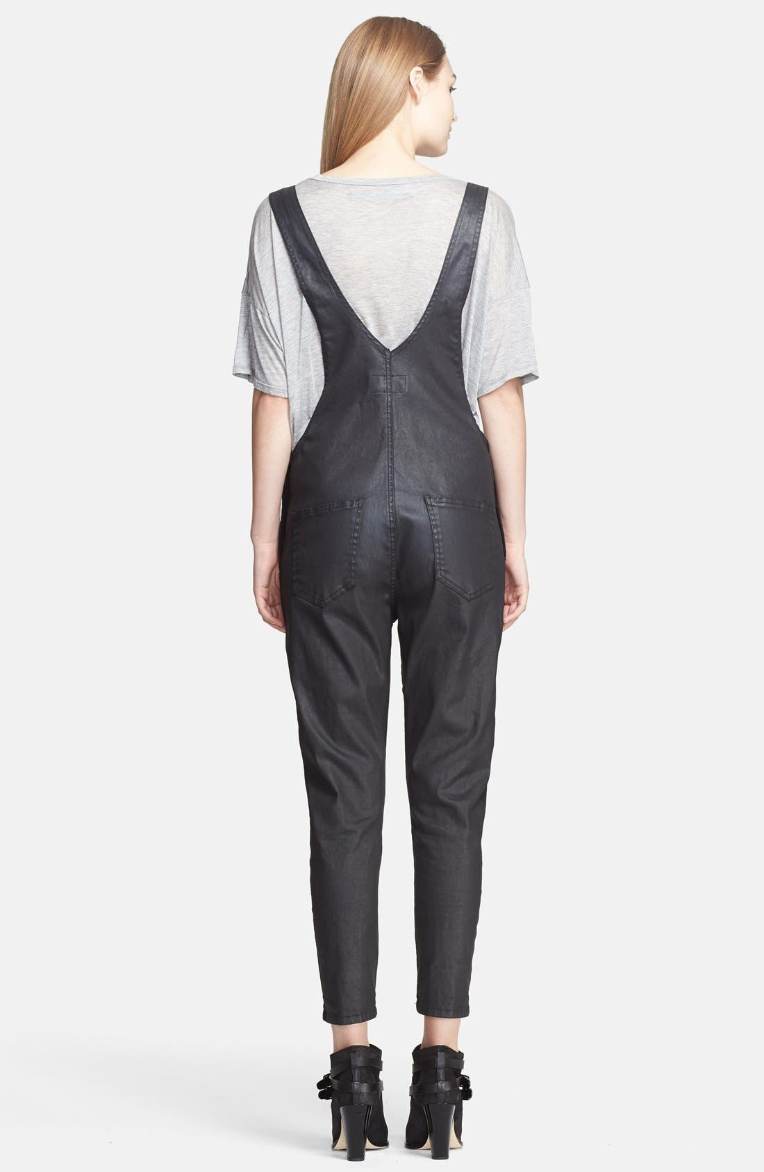 'The Ranch Hand' Coated Overalls,                             Alternate thumbnail 3, color,                             008