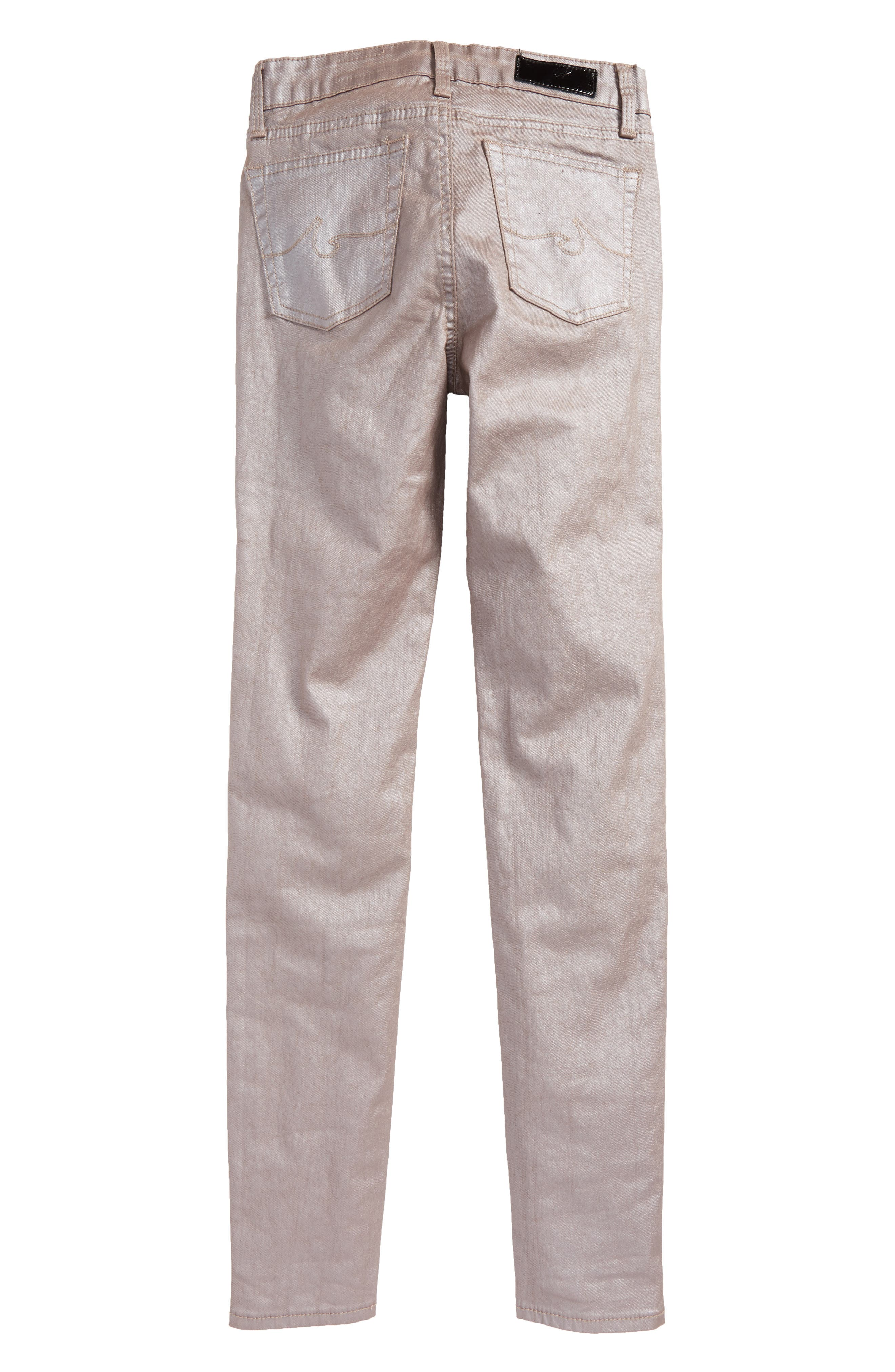 The Sleek Twiggy Ankle Jeans,                             Alternate thumbnail 4, color,