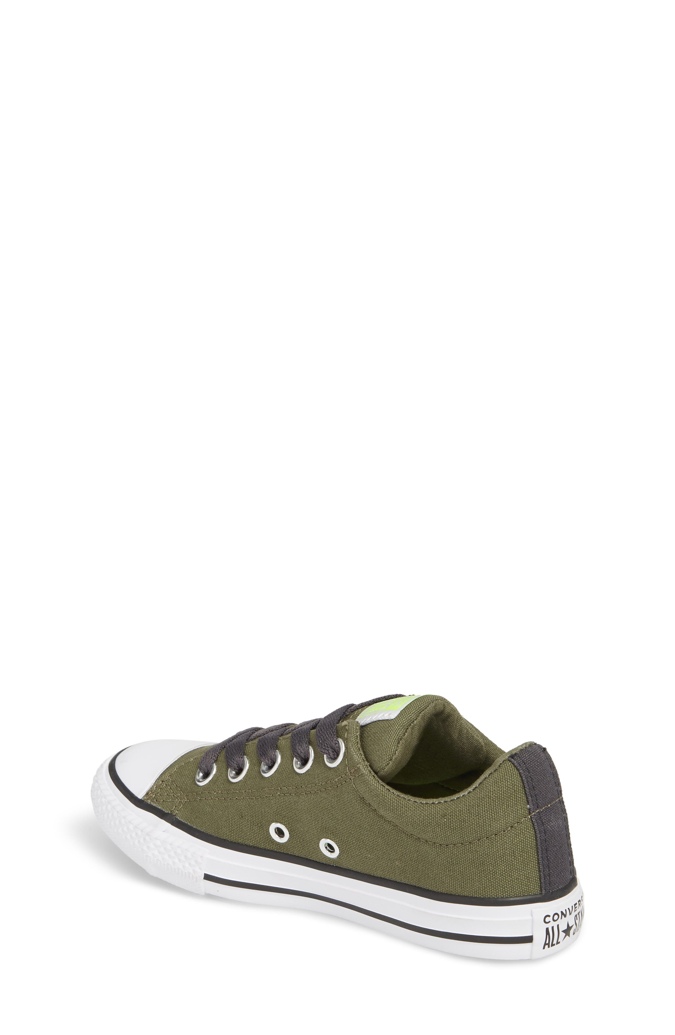 Chuck Taylor<sup>®</sup> All Star<sup>®</sup> Street Slip Low Top Sneaker,                             Alternate thumbnail 2, color,                             322