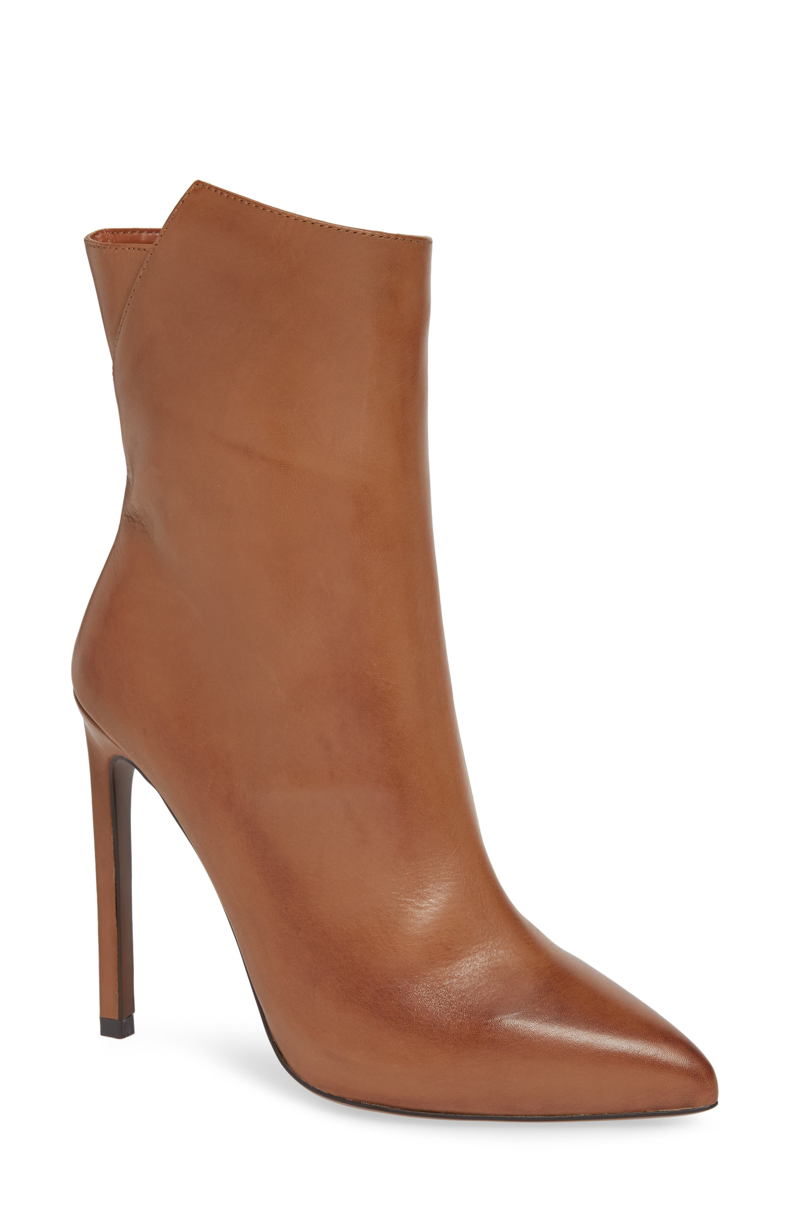 TONY BIANCO Frappe Bootie in Tan Albany Leather