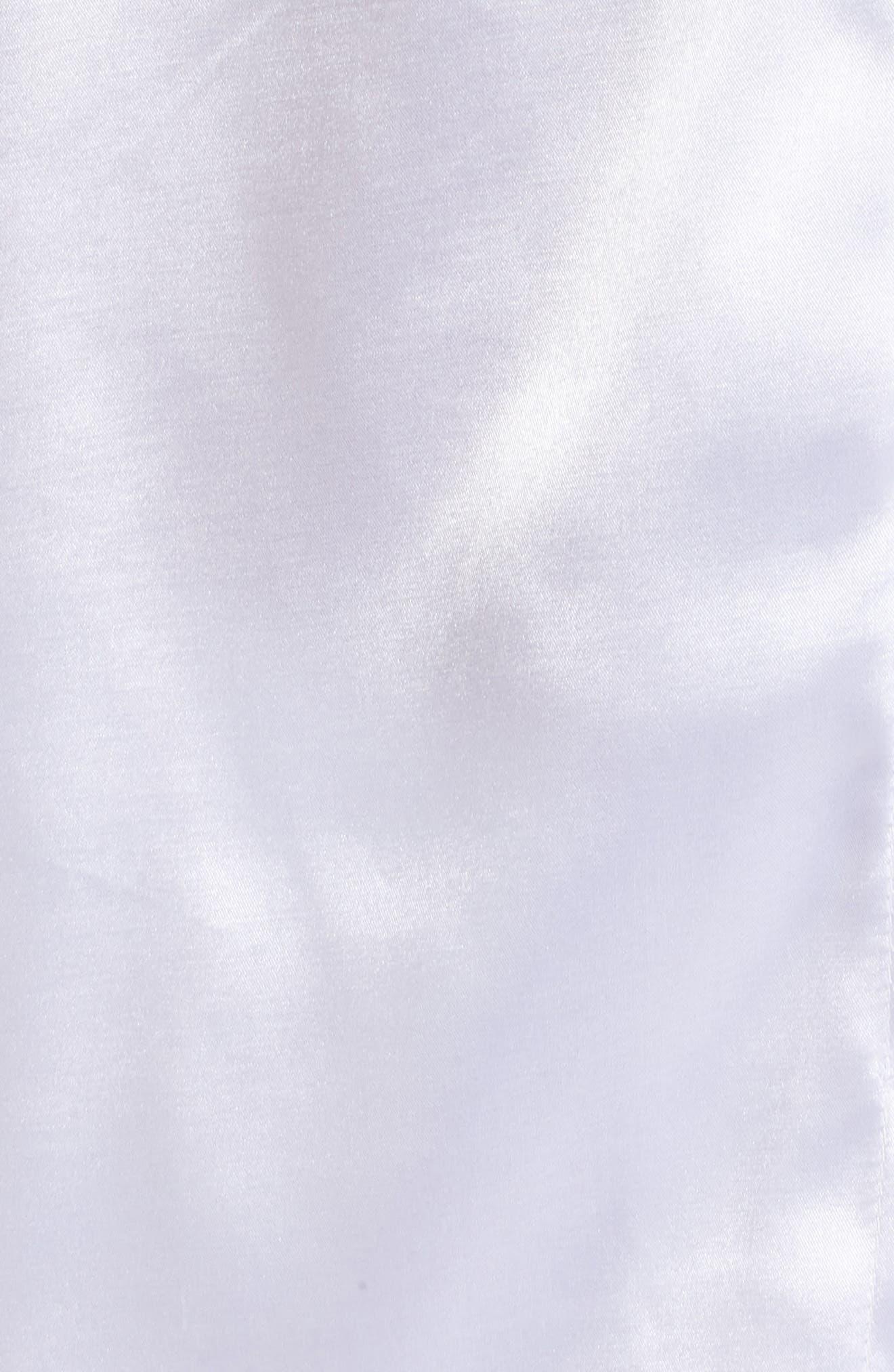 Bride Short Satin Pajamas,                             Alternate thumbnail 5, color,                             100