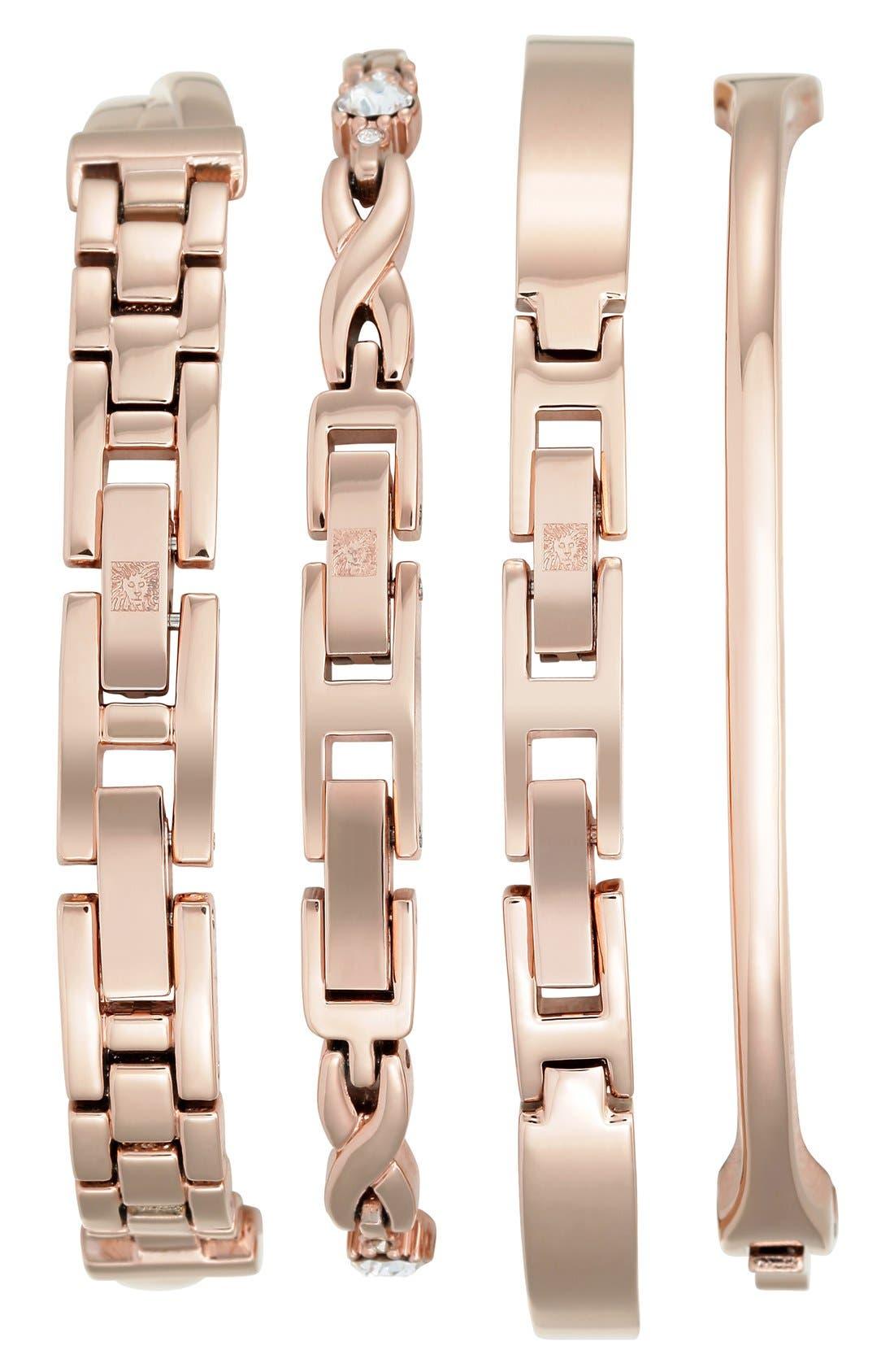 Boxed Bracelet & Bangle Watch Set, 24mm,                             Alternate thumbnail 2, color,                             711
