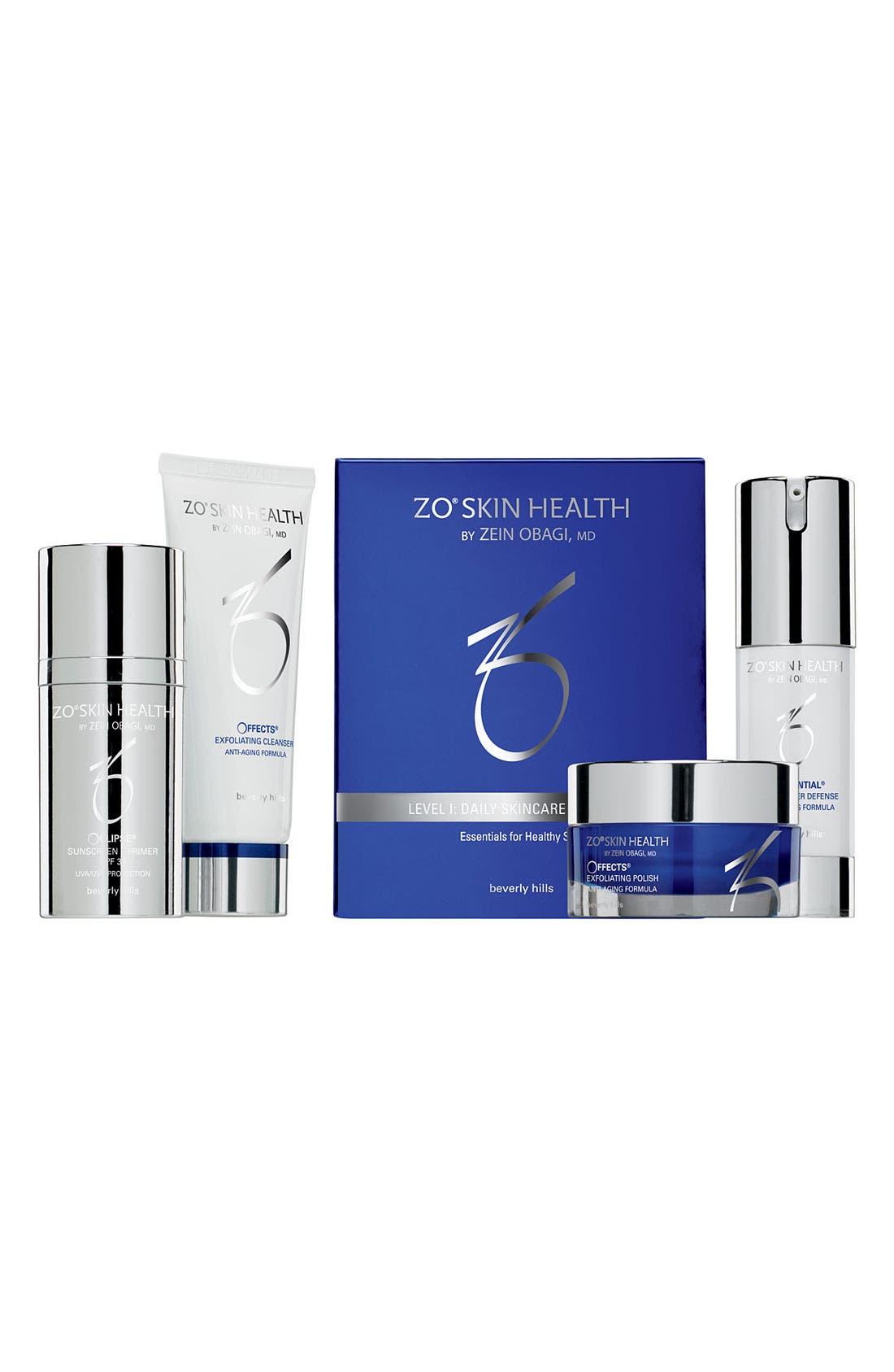 ZO Skin Health<sup>™</sup> 'Level 1' Daily Skincare Program,                             Main thumbnail 1, color,                             000