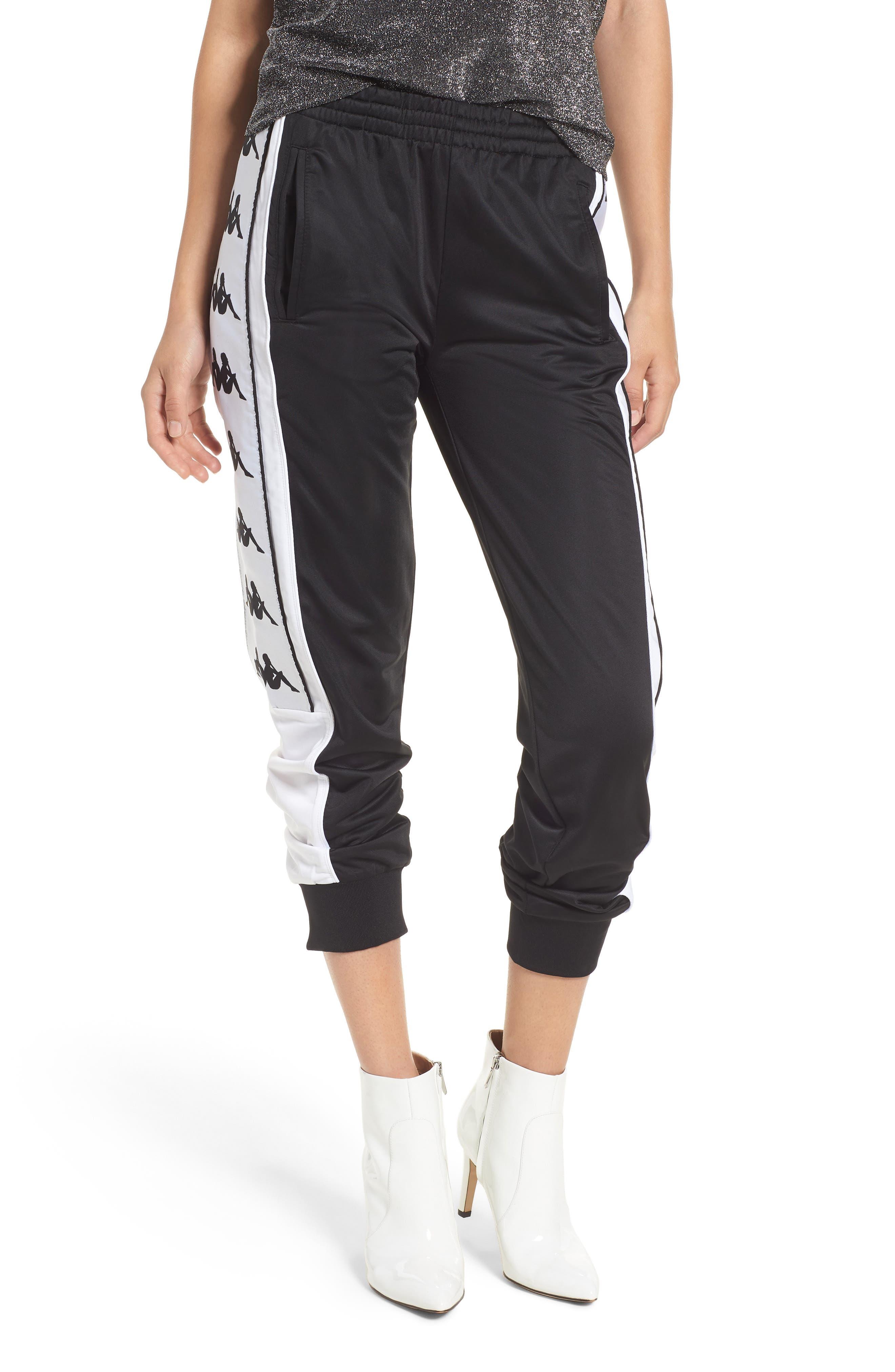 222 Banda 10 Arsis Pants,                         Main,                         color, BLACK-WHITE