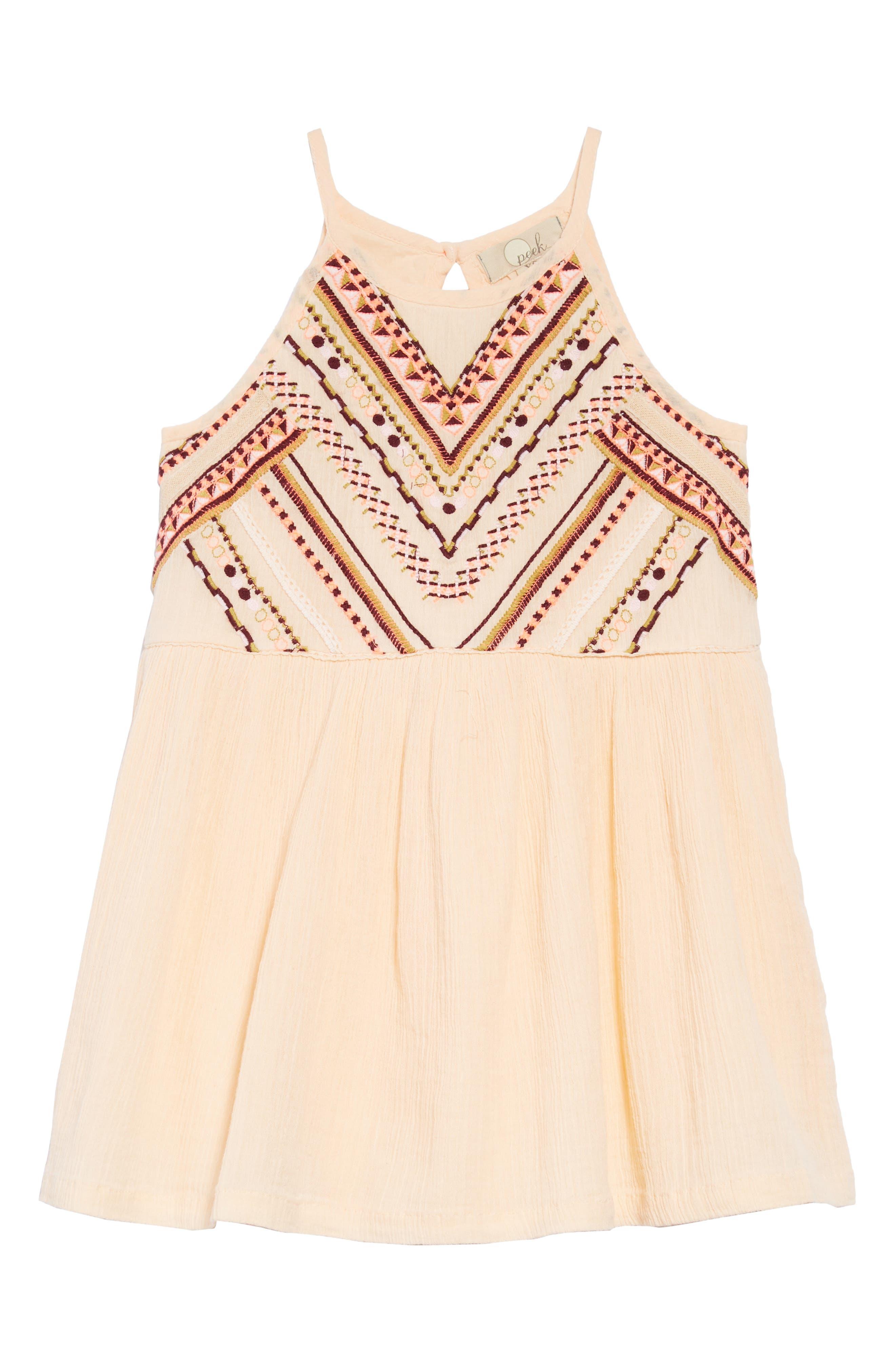 Sofia Embroidered Dress,                         Main,                         color,