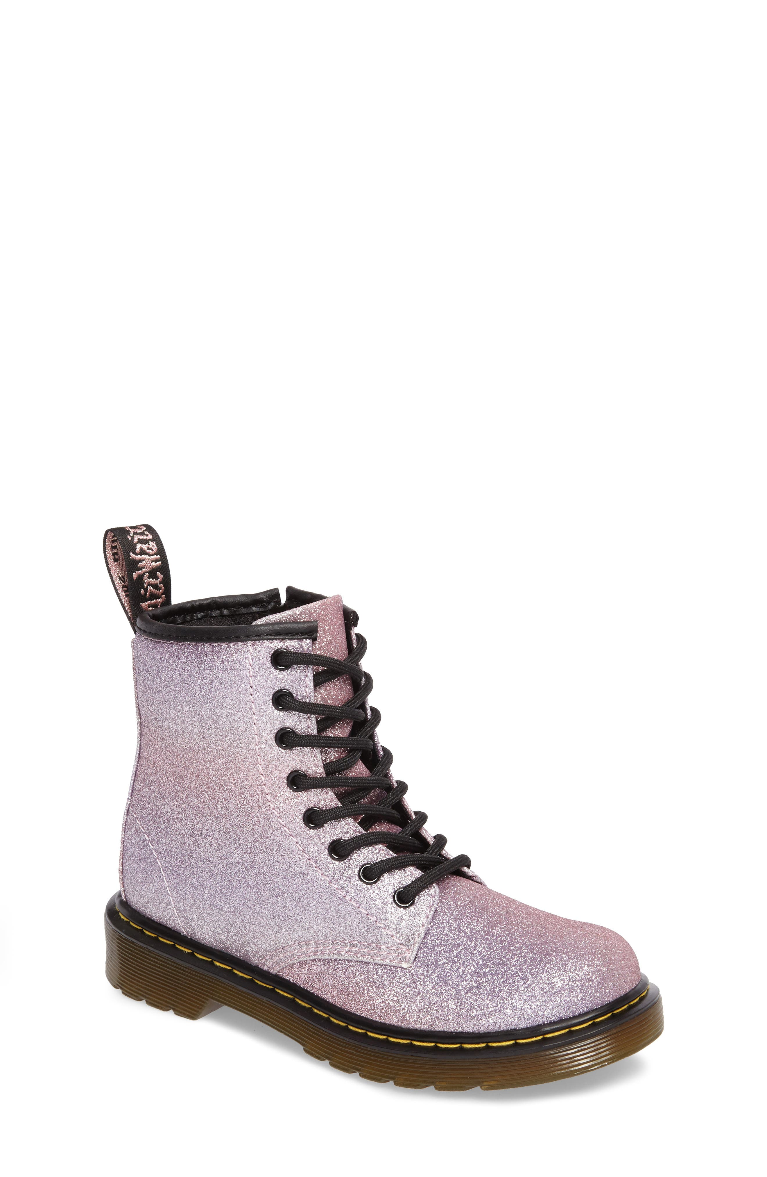 Delaney Glitter Boot,                             Main thumbnail 3, color,