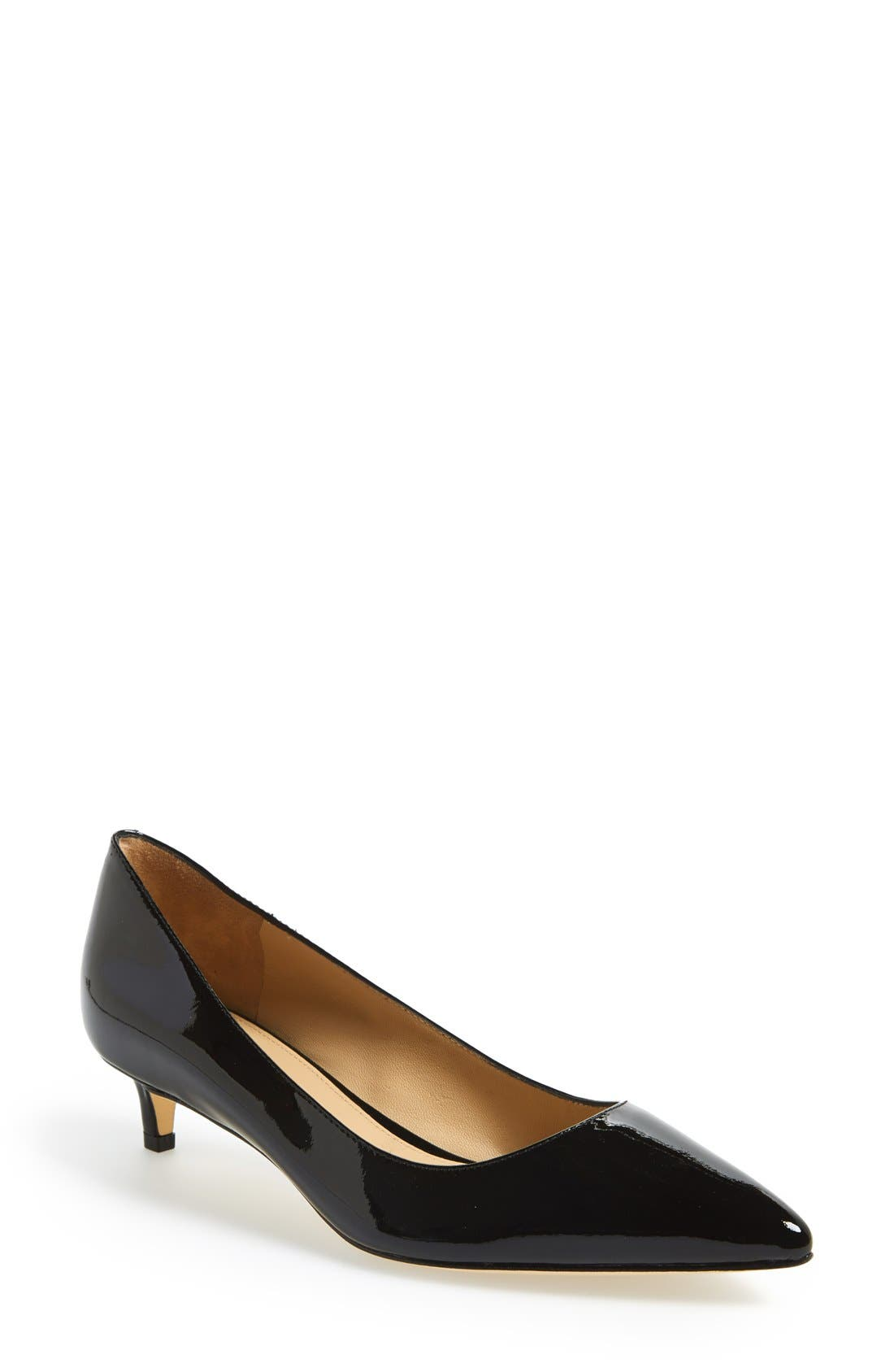 'Hue' Pointy Toe Pump,                             Main thumbnail 1, color,                             001
